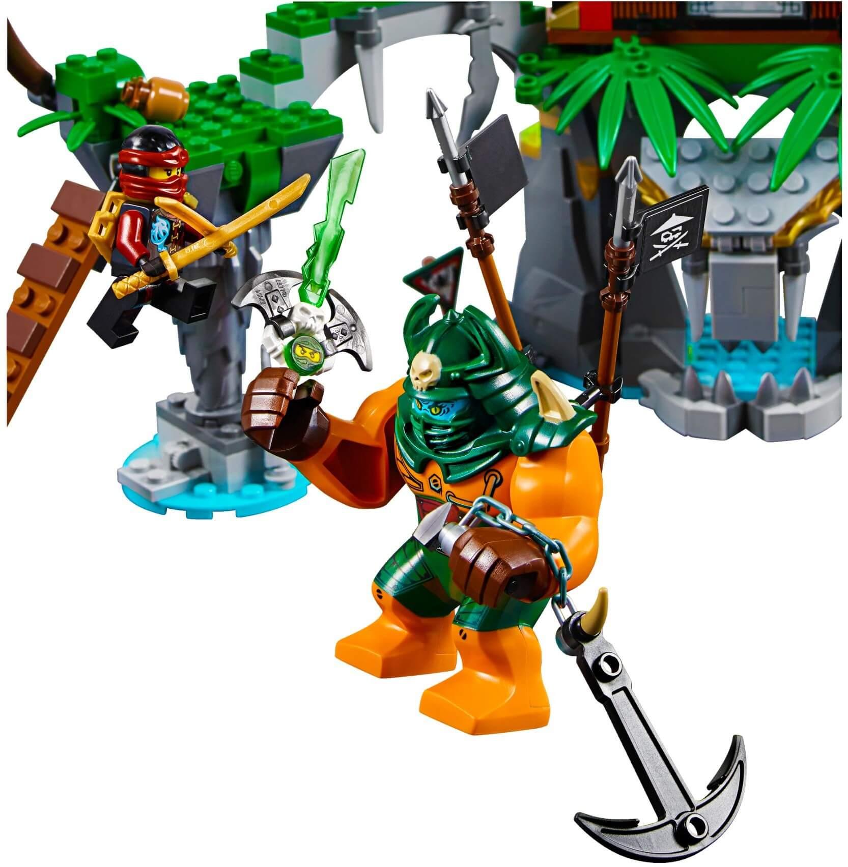Mua đồ chơi LEGO 70604 - LEGO Ninjago 70604 - Hòn đảo Tiger Widow (LEGO Ninjago Tiger Widow Island 70604)