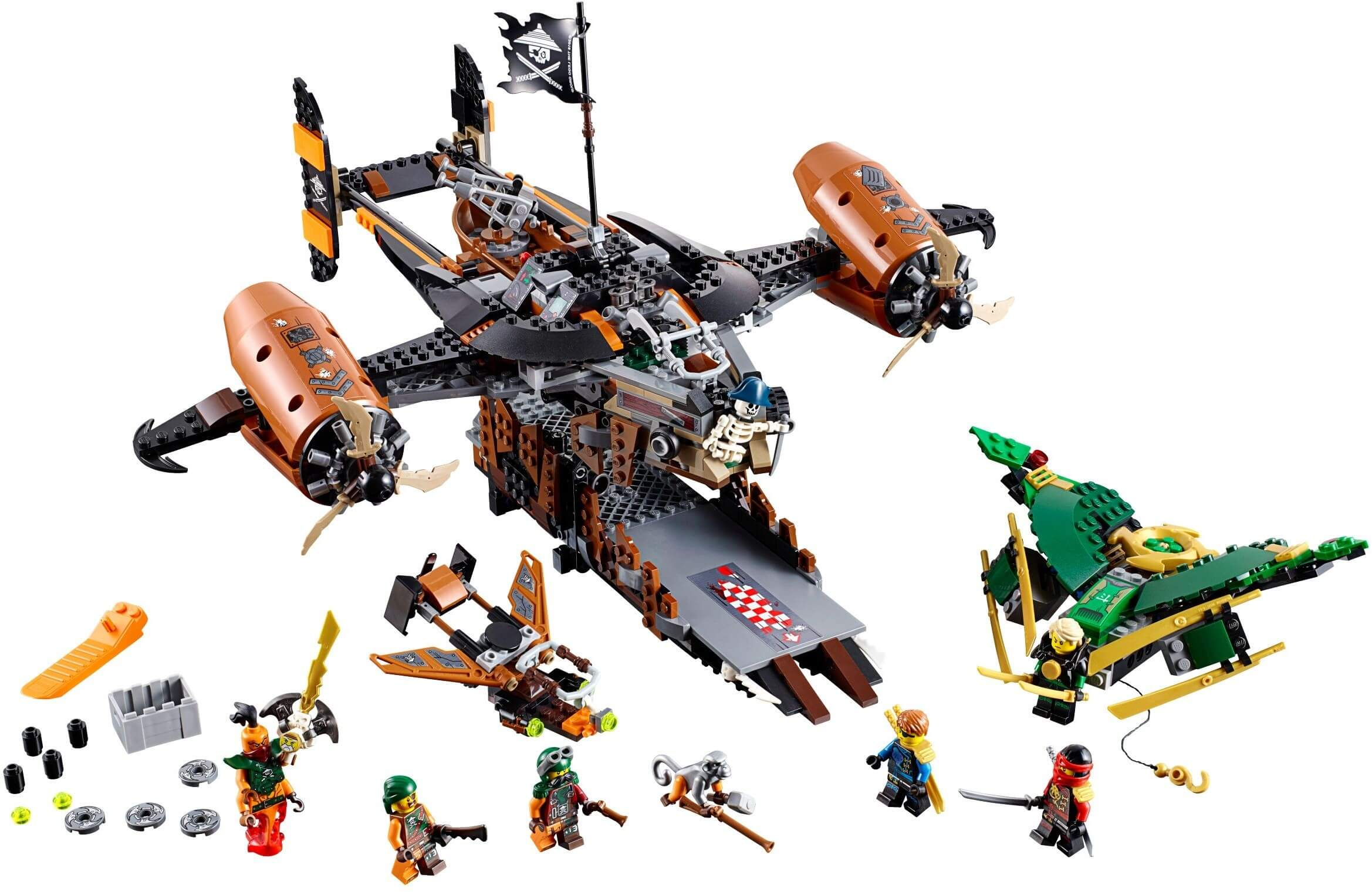 Mua đồ chơi LEGO 70605 - LEGO Ninjago 70605 - Pháo đài bay Misfortune's Keep (LEGO Ninjago Misfortune's Keep 70605)