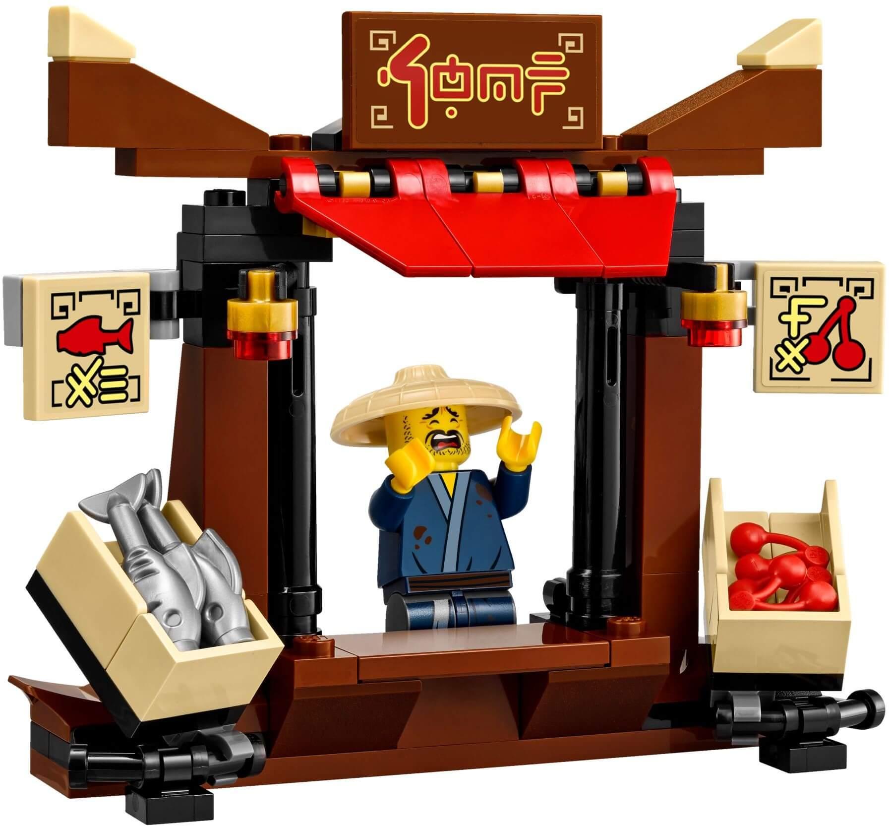 Mua đồ chơi LEGO 70607 - LEGO Ninjago 70607 - Các Ninja Rượt Đuổi Tội Phạm (LEGO Ninjago City Chase)