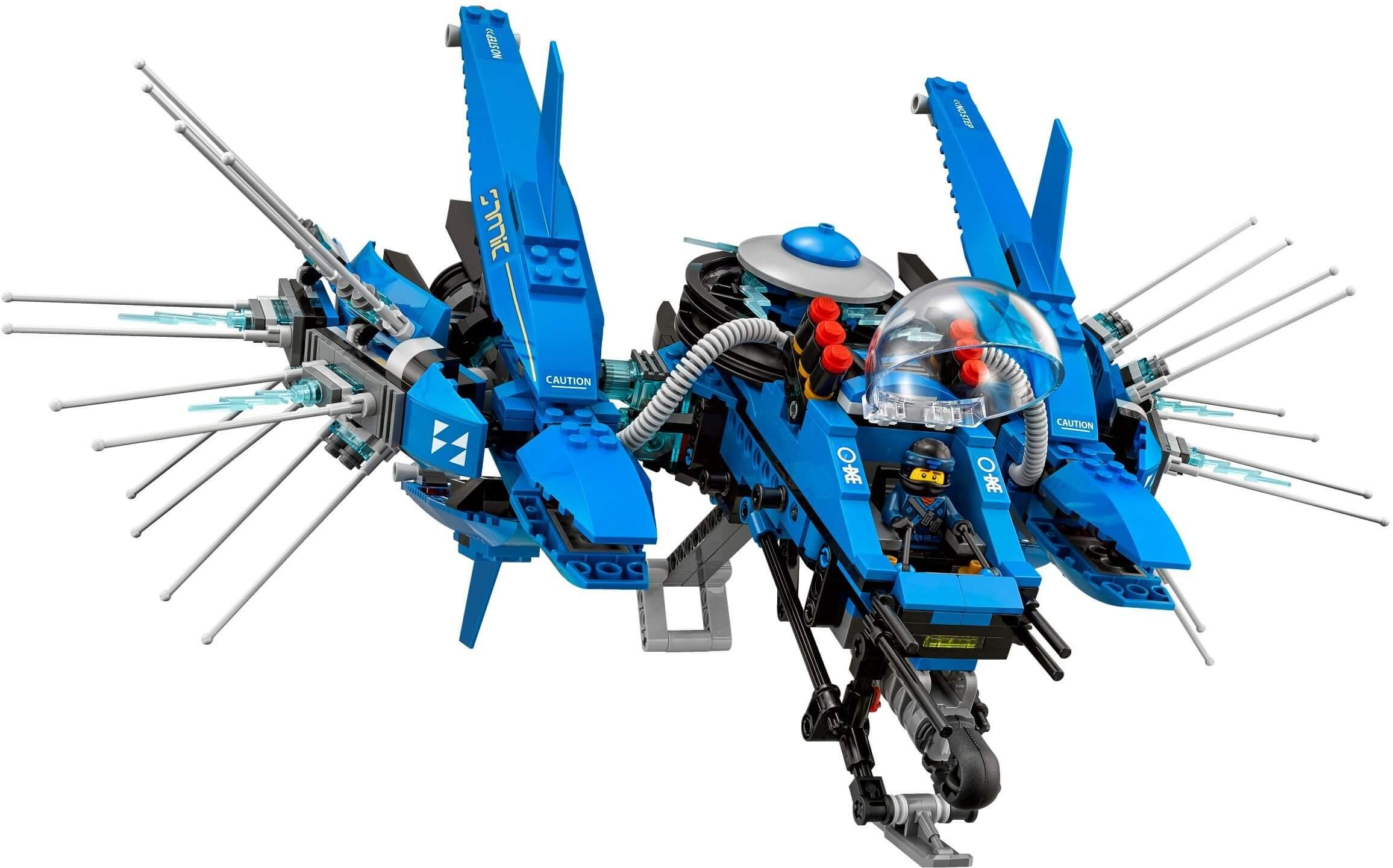 Mua đồ chơi LEGO 70614 - LEGO Ninjago 70614 - Máy Bay Tia Chớp của Jay (LEGO Ninjago Lightning Jet)