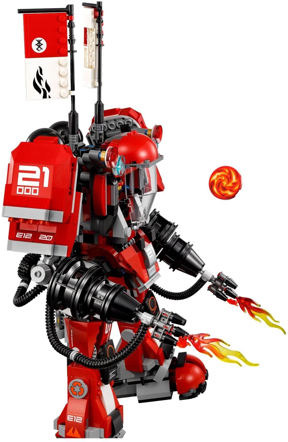 Mua đồ chơi LEGO 70615 - LEGO Ninjago 70615 - Người Máy Samurai Lửa Khổng Lồ của Kai (LEGO Ninjago Fire Mech)