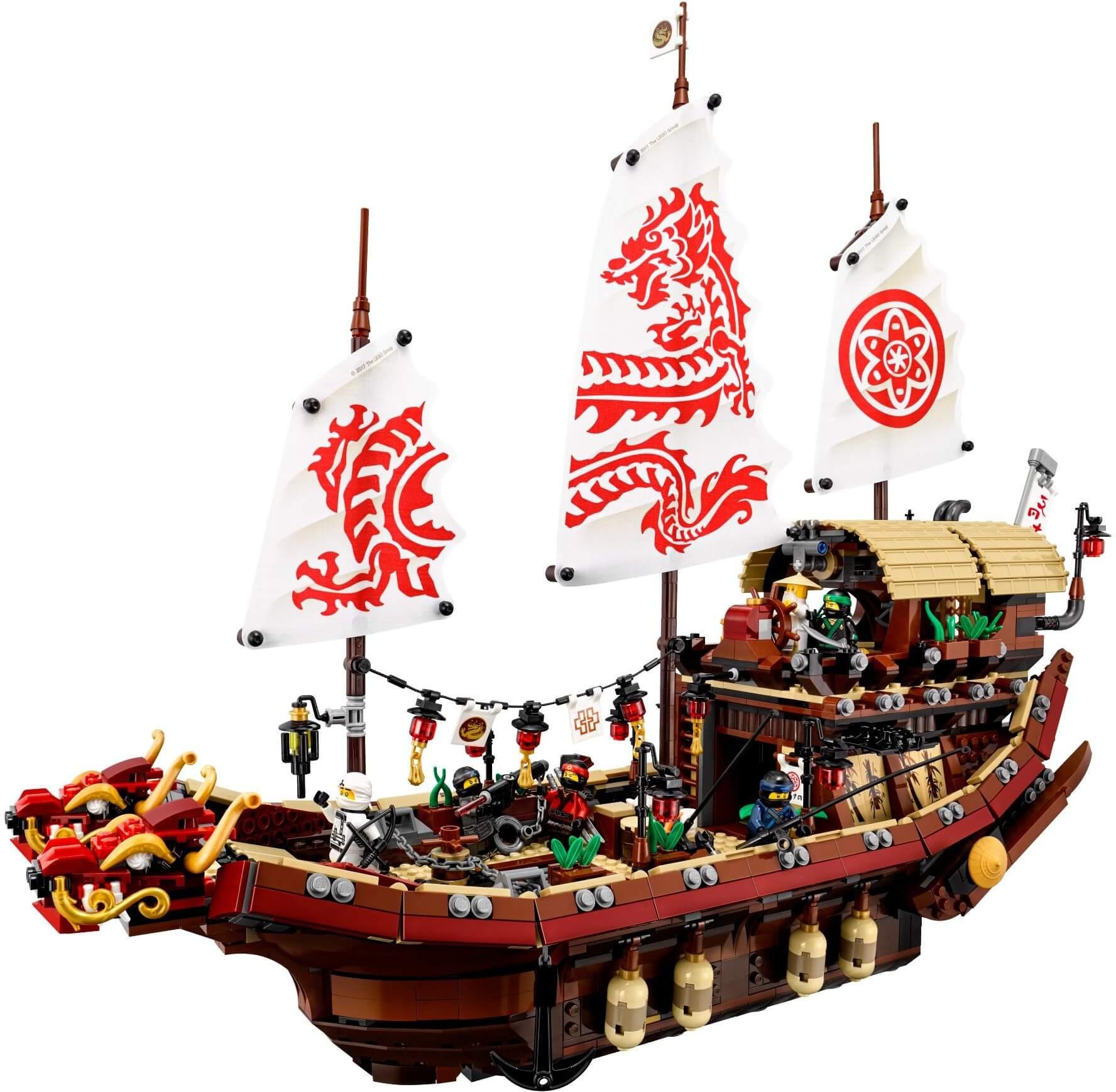 Mua đồ chơi LEGO 70618 - LEGO Ninjago 70618 - Chiến Thuyền Destiny's Bounty (LEGO Ninjago Destiny's Bounty)