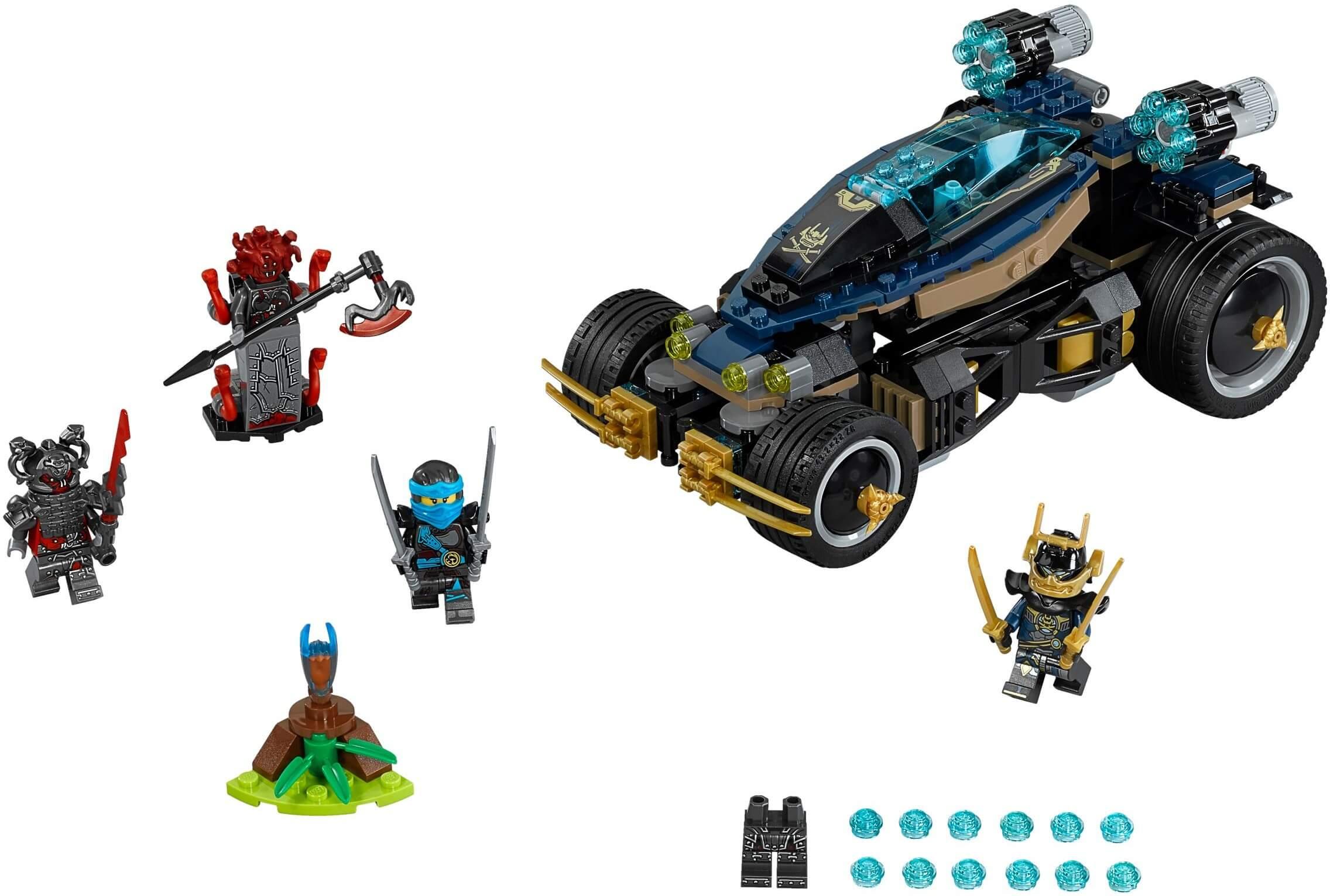 Mua đồ chơi LEGO 70625 - LEGO Ninjago 70625 - Siêu Xe Bọc Thép Samurai VXL (LEGO 70625 Samurai VXL)