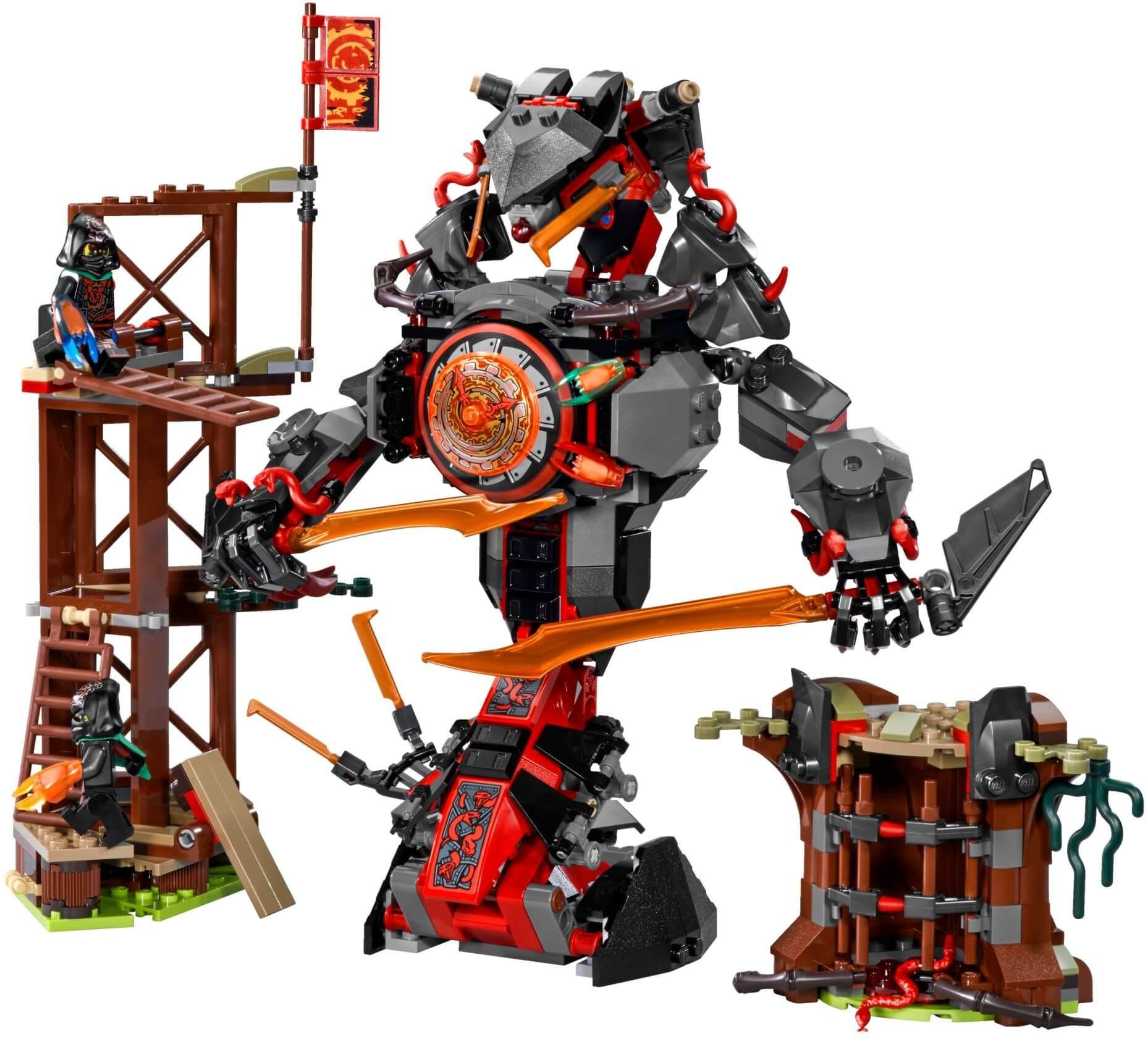 Mua đồ chơi LEGO 70626 - LEGO Ninjago 70626 - Quái Vật Rắn Khổng Lồ đại chiến (LEGO 70626 Dawn of Iron Doom)