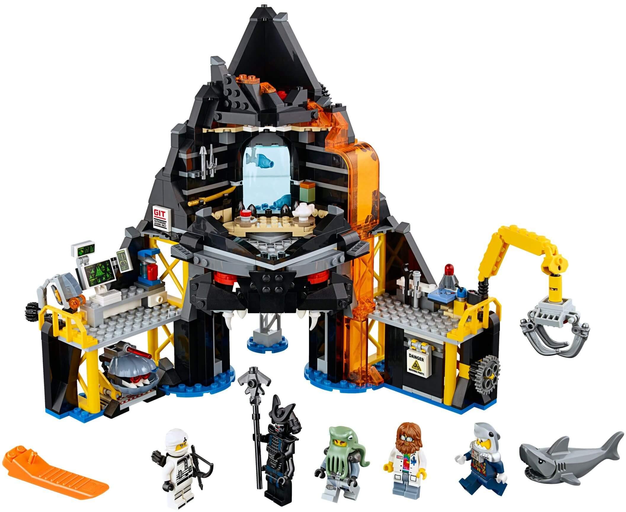 Mua đồ chơi LEGO 70631 - LEGO Ninjago 70631 - Pháo Đài Nham Thạch của Garmadon (LEGO Ninjago 70631 Garmadon's Volcano Lair)