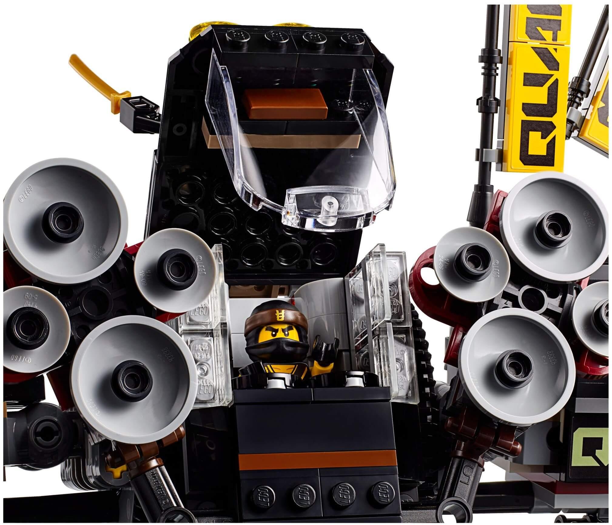 Mua đồ chơi LEGO 70632 - LEGO Ninjago 70632 - Người Máy Siêu Âm của Cole (LEGO Ninjago 70632 Quake Mech)