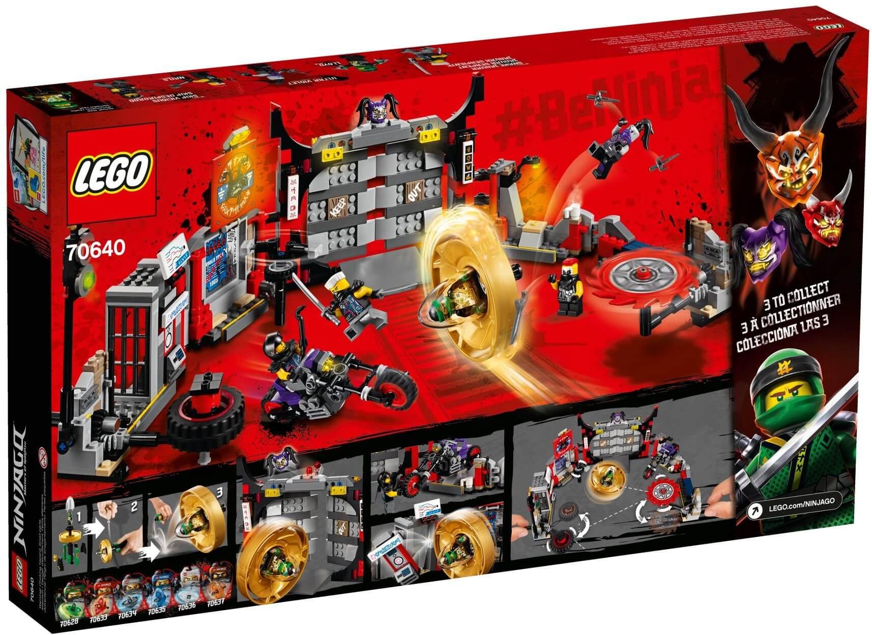 Mua đồ chơi LEGO 70640 - LEGO Ninjago 70640 - Sở Chỉ Huy S.O.G (LEGO Ninjago 70640 S.O.G. Headquarters)