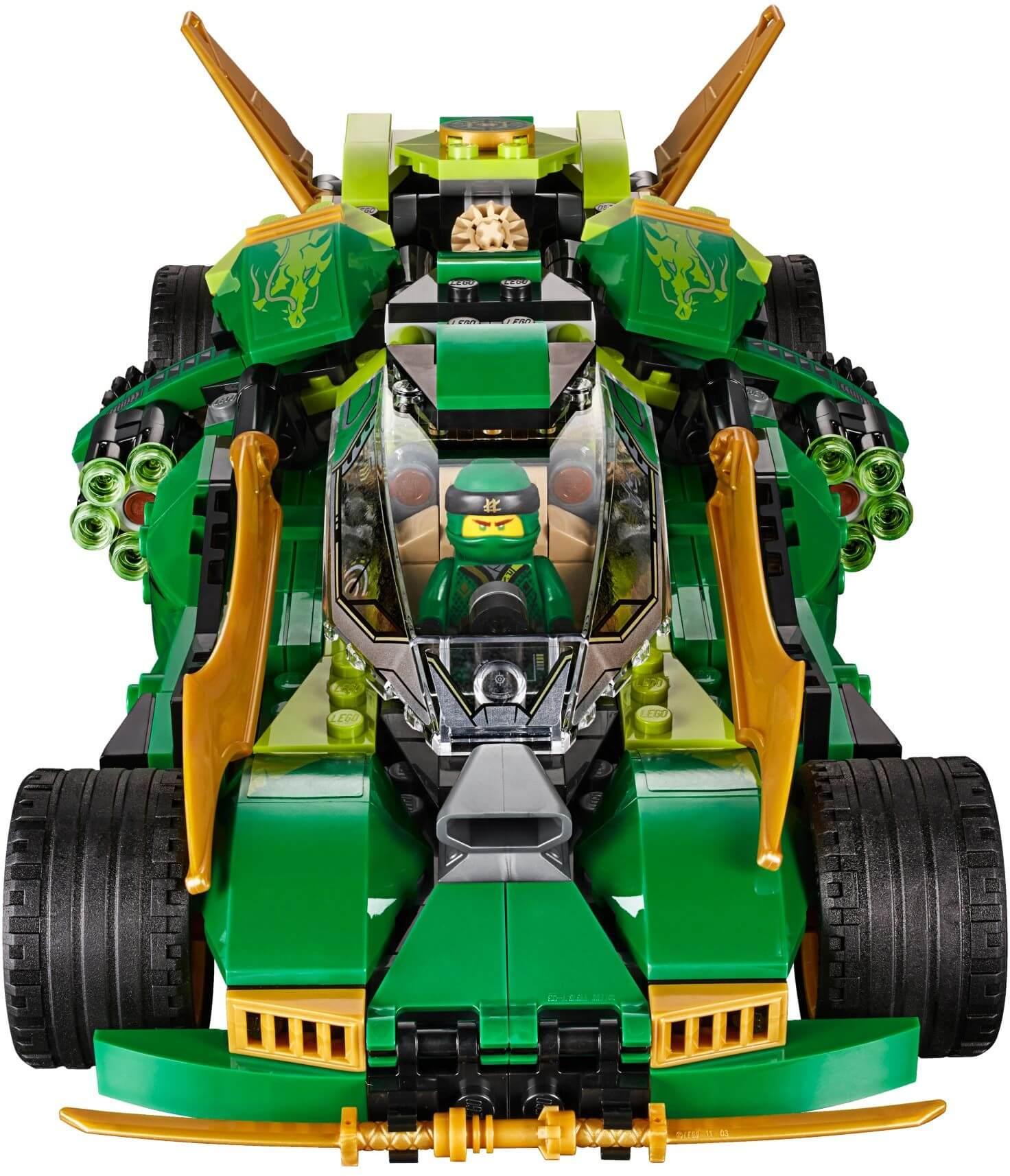 Mua đồ chơi LEGO 70641 - LEGO Ninjago 70641 - Xe Đua Bóng Đêm của Ninja (LEGO Ninjago 70641 Ninja Nightcrawler)