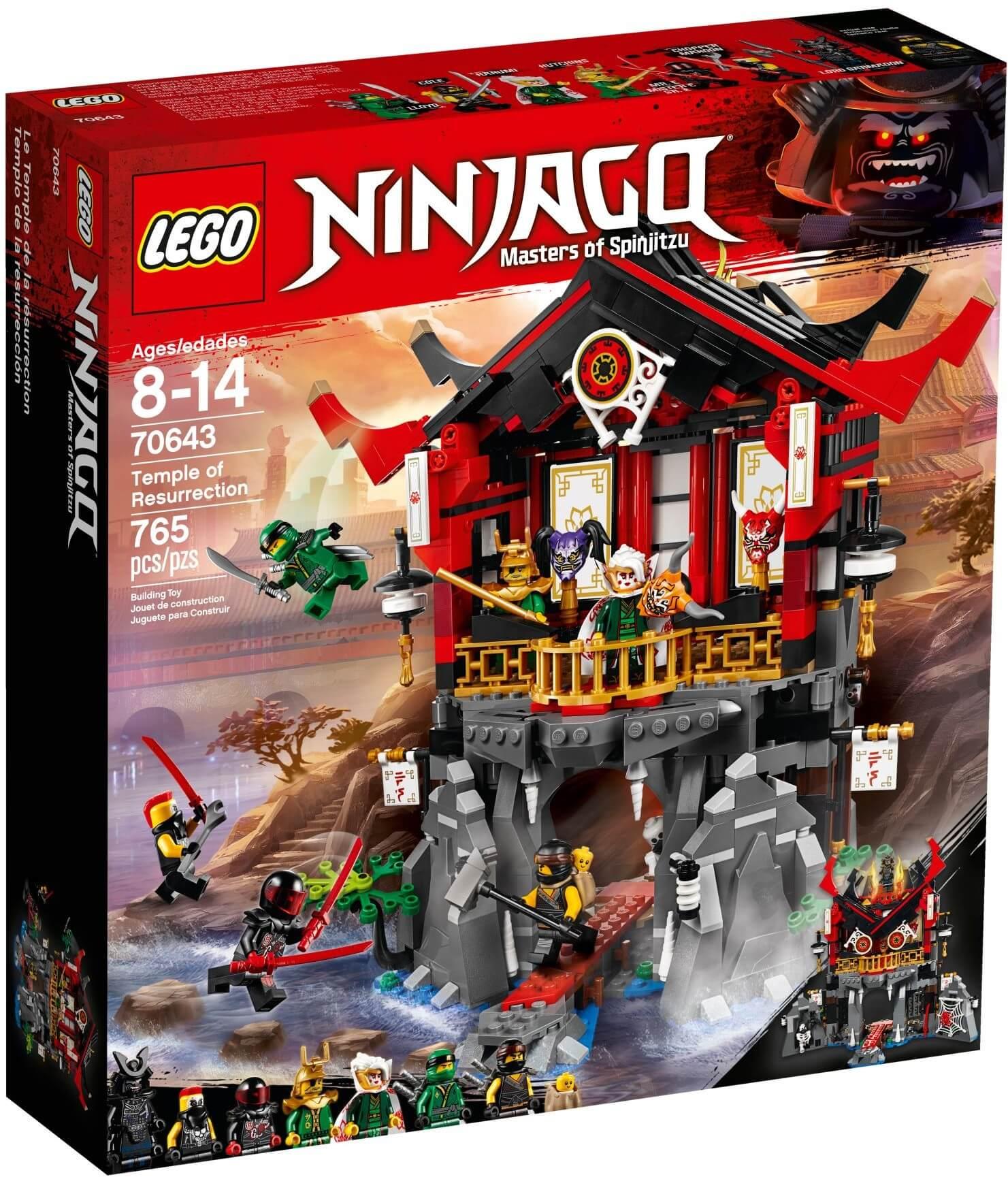 Mua đồ chơi LEGO 70643 - LEGO Ninjago 70643 - Ngôi Đền Hồi Sinh (LEGO Ninjago 70643 Temple of Resurrection)