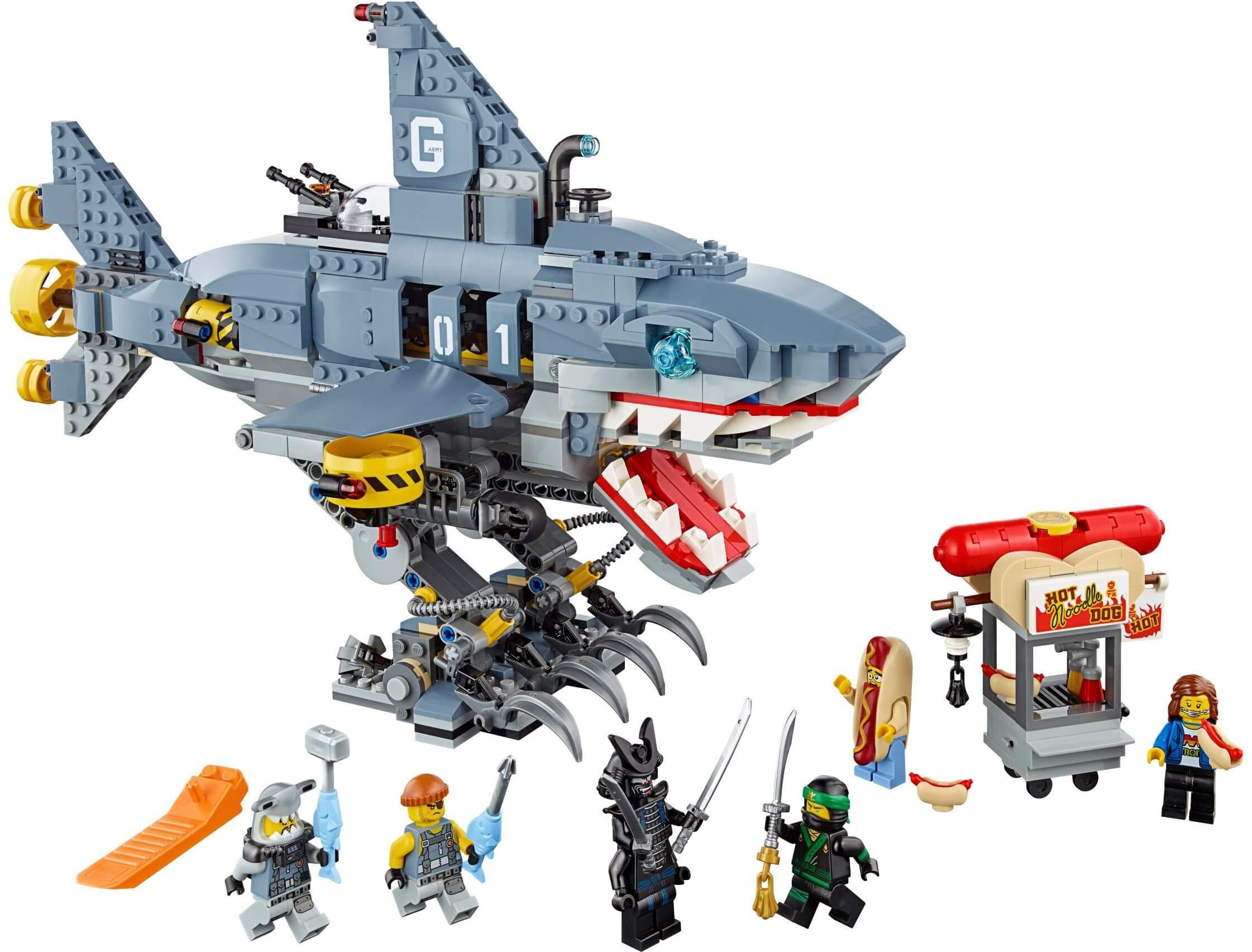 Mua đồ chơi LEGO 70656 - LEGO Ninjago 70656 - Tàu Ngầm Cá Mập Garmadon (LEGO Ninjago 70656 garmadon, Garmadon, GARMADON!)