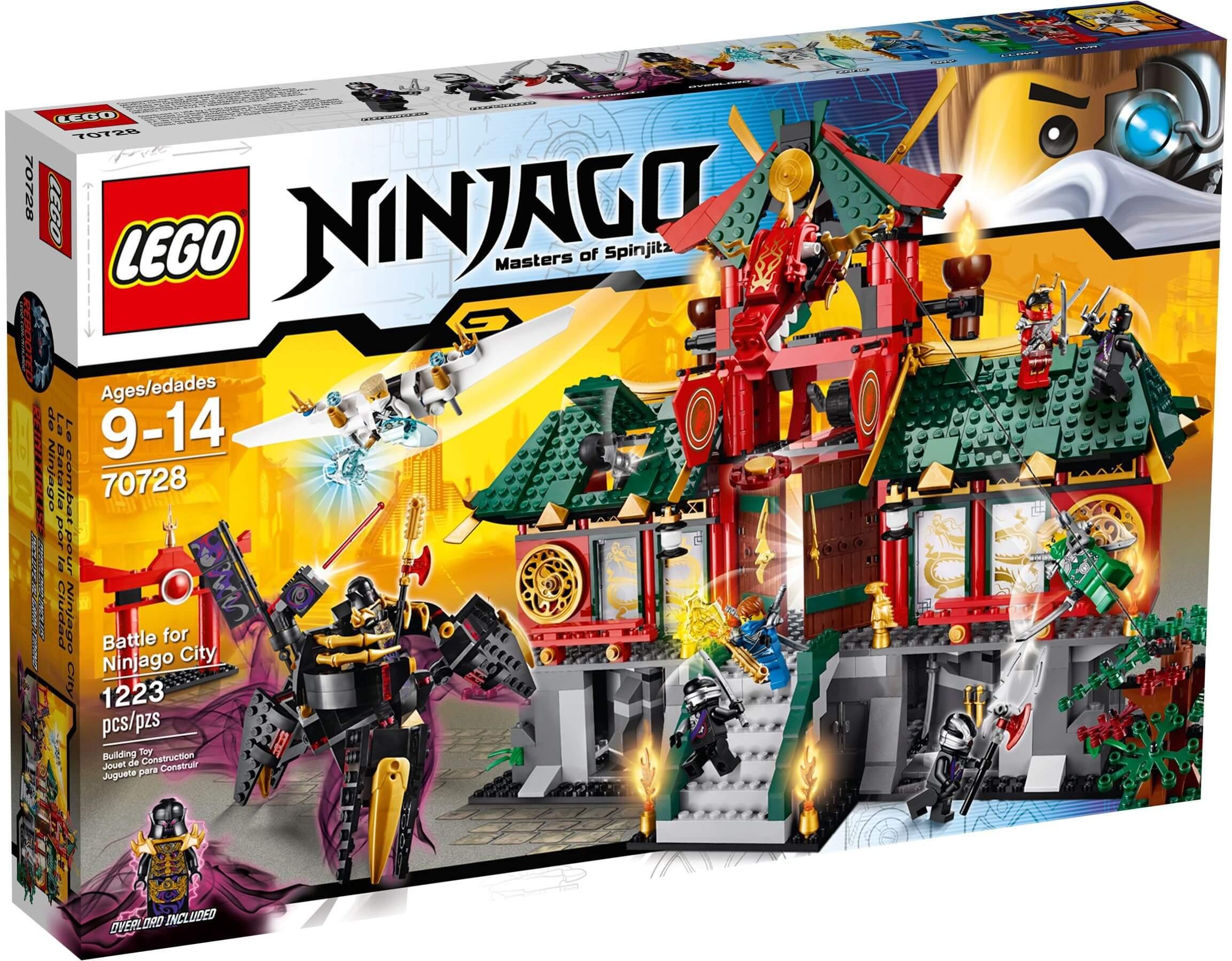Mua đồ chơi LEGO 70728 - LEGO Ninjago 70728 - Trận Quyết chiến cho Thành phố Ninjago (LEGO Ninjago Battle for Ninjago City 70728)