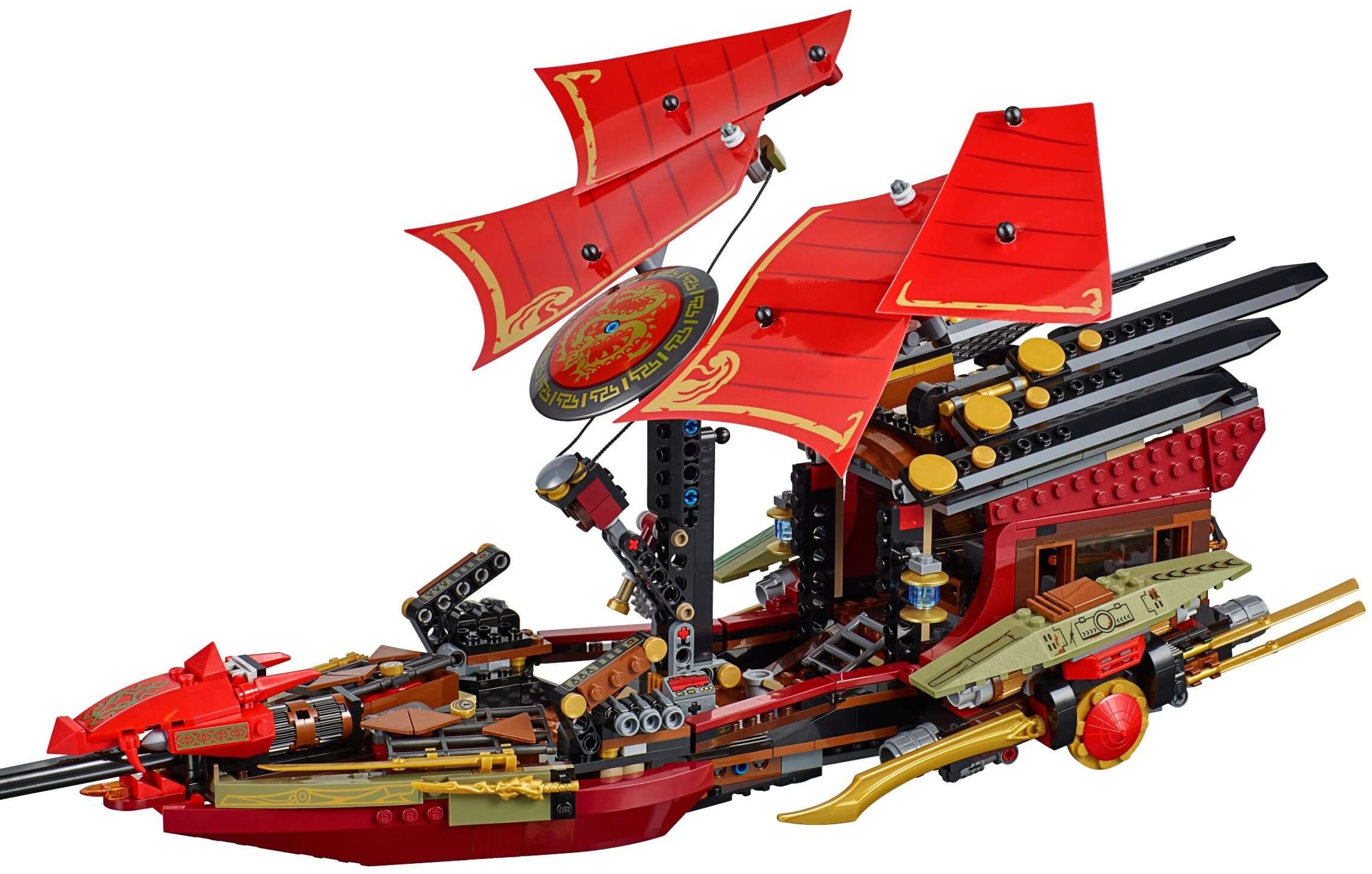 Mua đồ chơi LEGO 70738 - LEGO Ninjago 70738 - Siêu tàu chiến Destiny's Bounty (LEGO Ninjago Final Flight of Destiny's Bounty 70738)