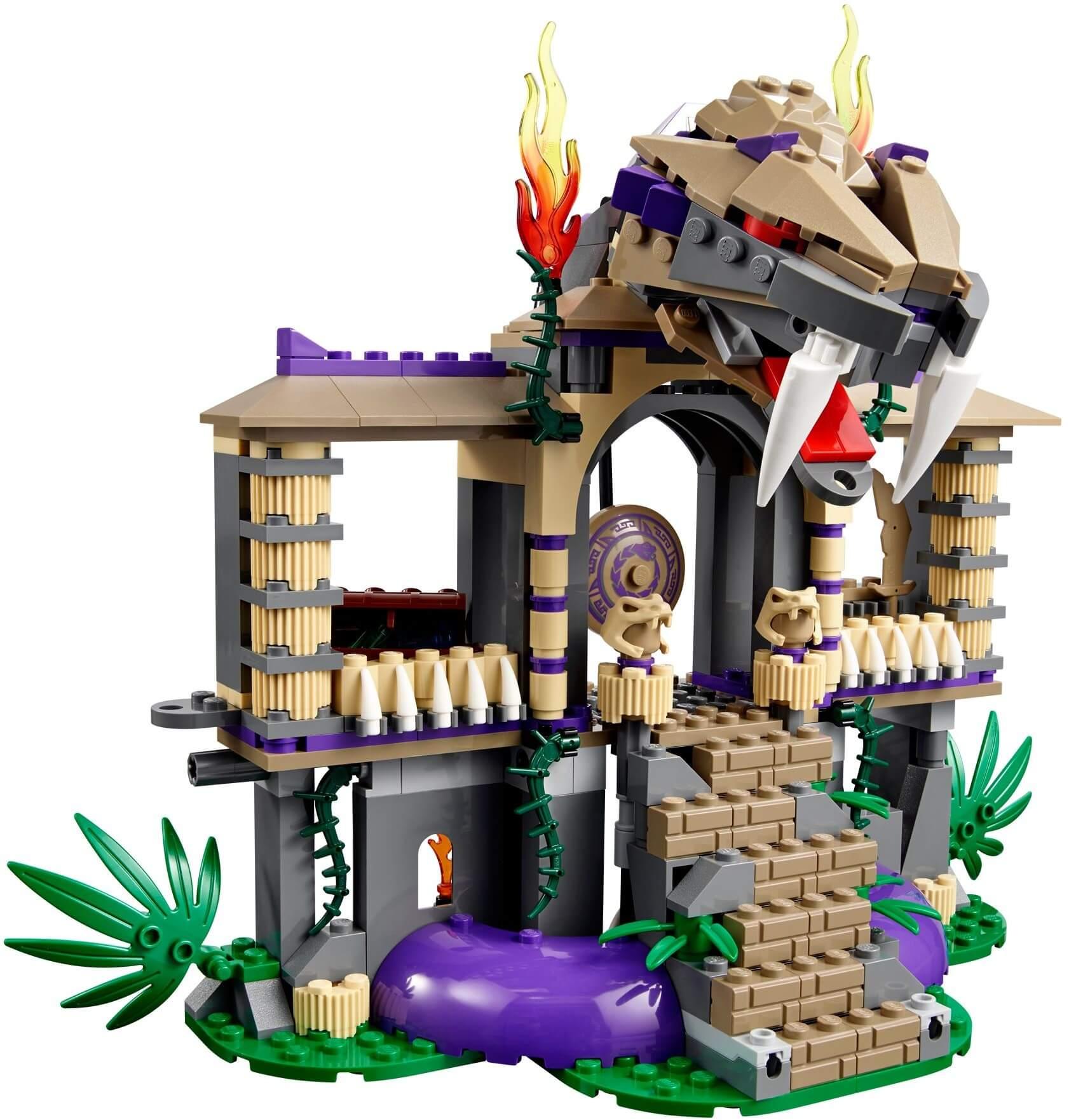 Mua đồ chơi LEGO 70749 - LEGO Ninjago 70749 - Trận chiến tại Ngôi đền Rắn (LEGO Ninjago Enter the Serpent 70749)