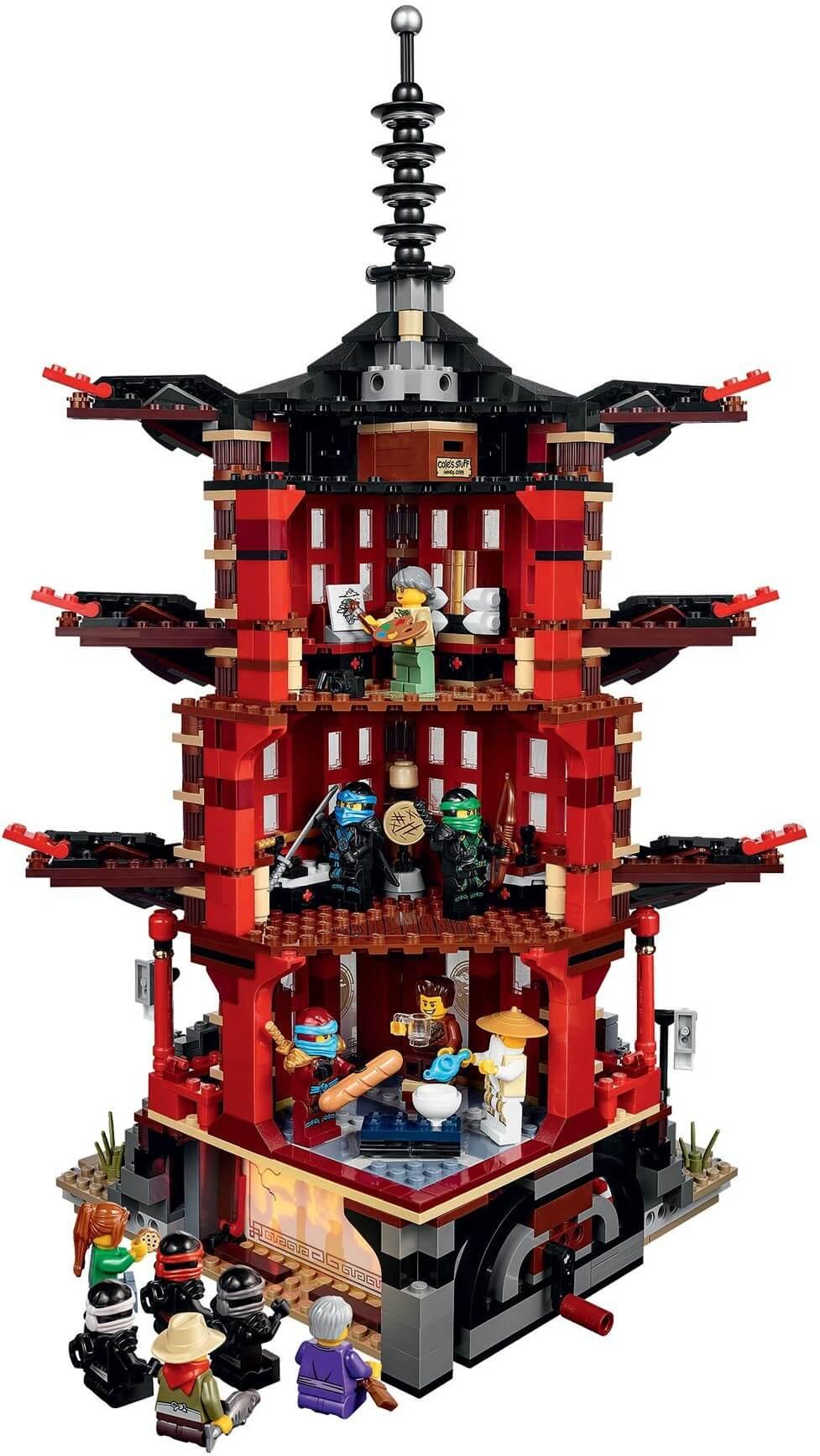 Mua đồ chơi LEGO 70751 - LEGO Ninjago 70751 - LEGO Ngôi đền Airjitzu