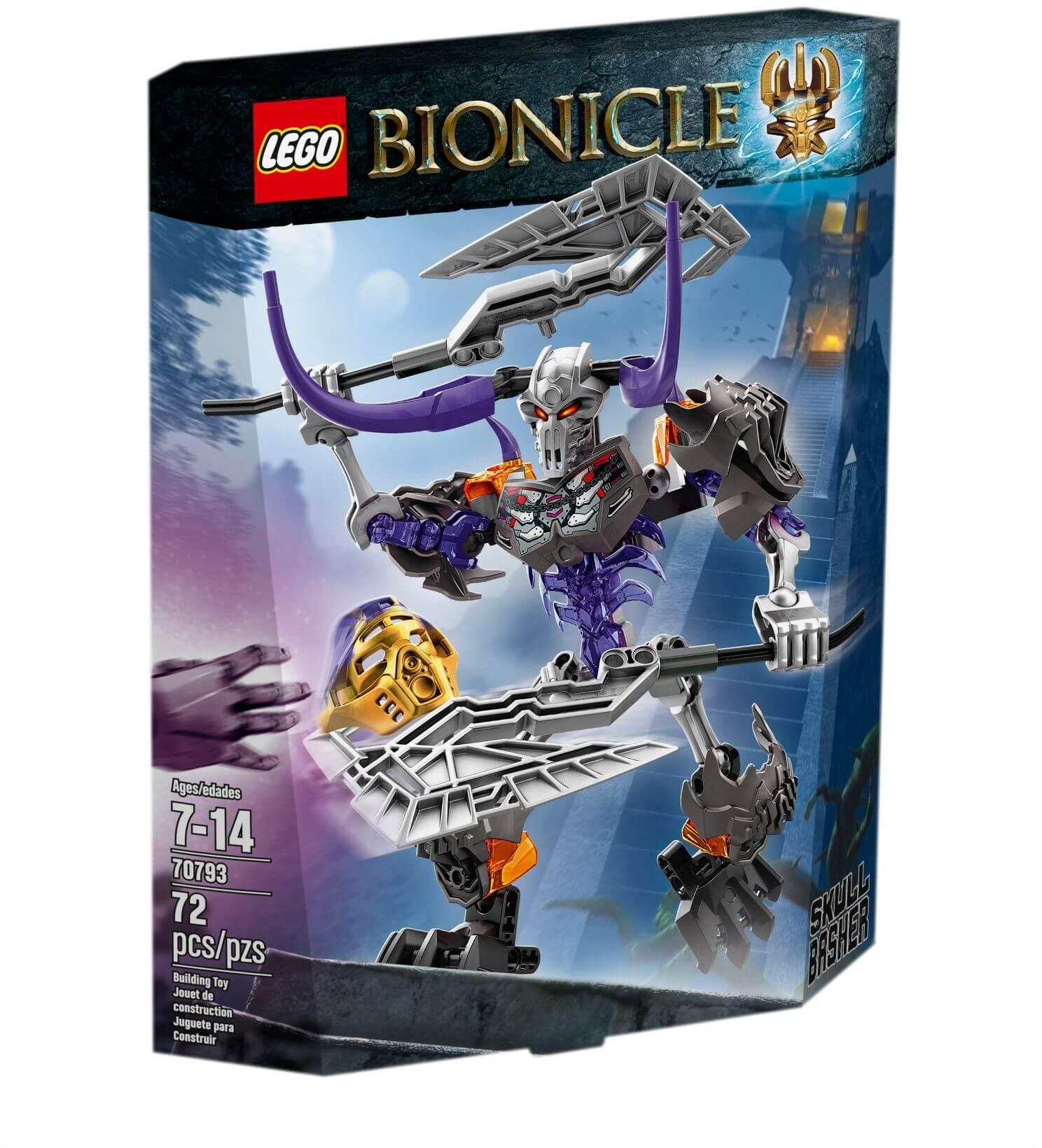 Mua đồ chơi LEGO 70793 - LEGO BIONICLE 70793 - Đồ Tể Đầu Sọ (LEGO BIONICLE Skull Basher 70793)