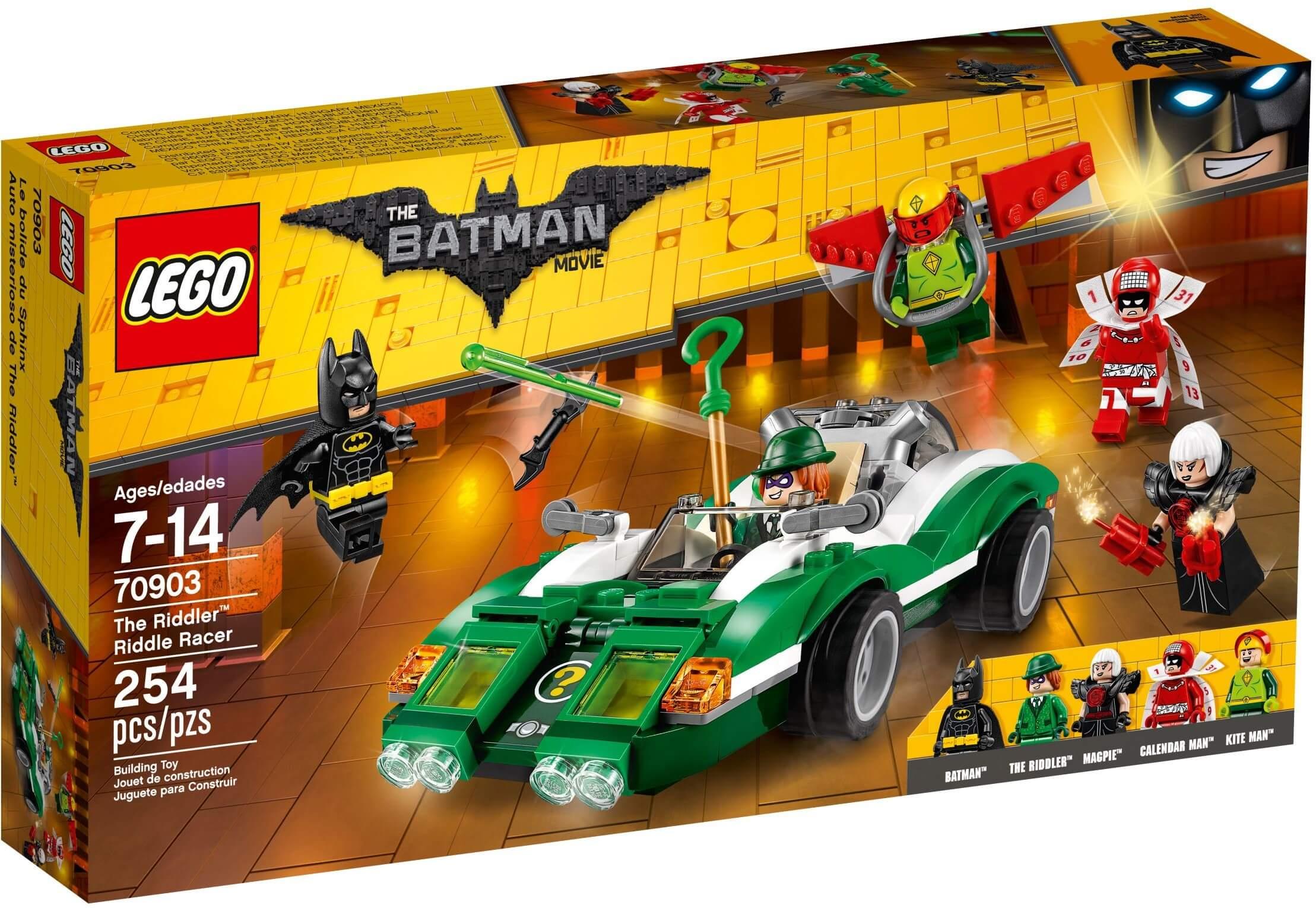 Mua đồ chơi LEGO 70903 - LEGO Batman Movie 70903 - Siêu Xe của Riddler (LEGO 70903 The Riddler Riddle Racer)