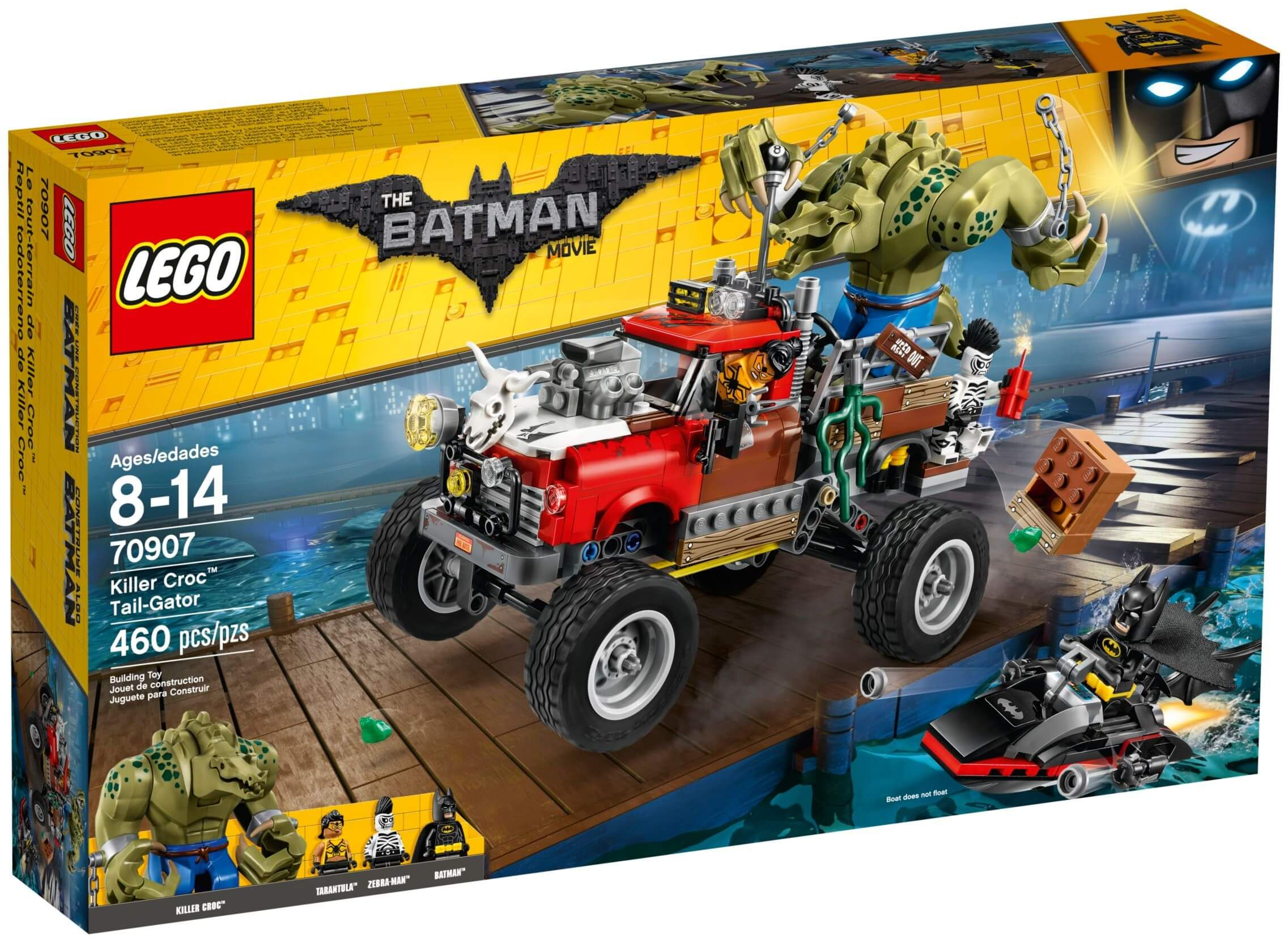 Mua đồ chơi LEGO 70907 - LEGO Batman Movie 70907 - Killer Croc Tail-Gator (LEGO 70907 Killer Croc Tail-Gator)