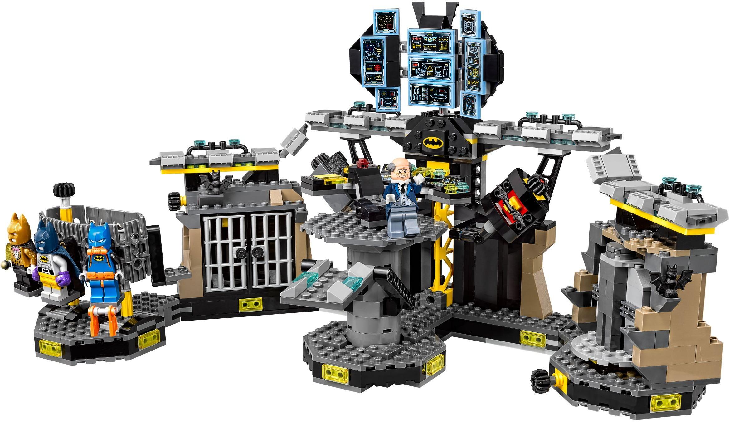 Mua đồ chơi LEGO 70909 - LEGO Batman Movie 70909 - Hang Động Batcave của Người Dơi (LEGO Batman Movie Batcave Break-in 70909)