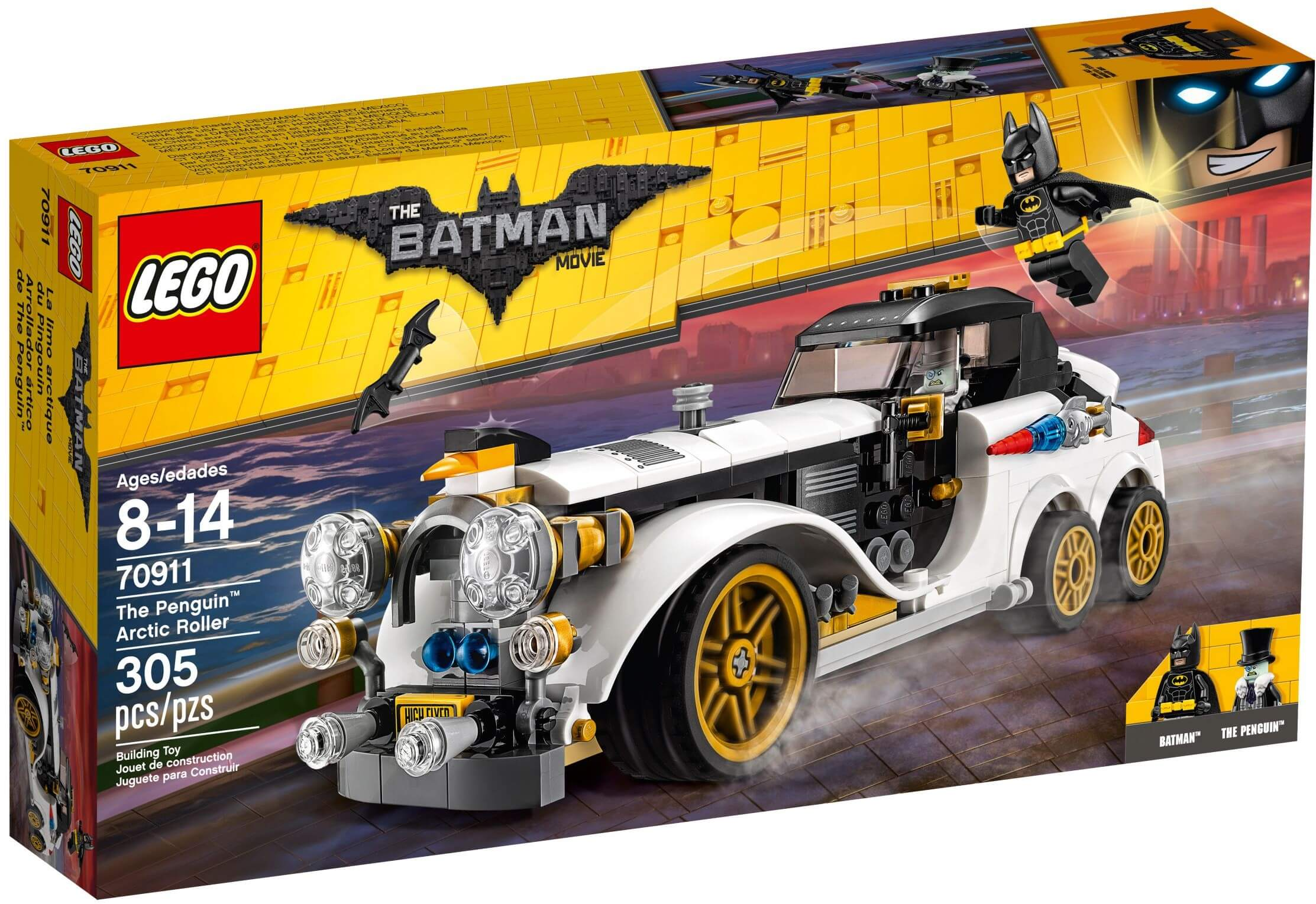 Mua đồ chơi LEGO 70911 - LEGO Batman Movie 70911 - The Penguin Arctic Roller (LEGO 70911 The Penguin Arctic Roller)