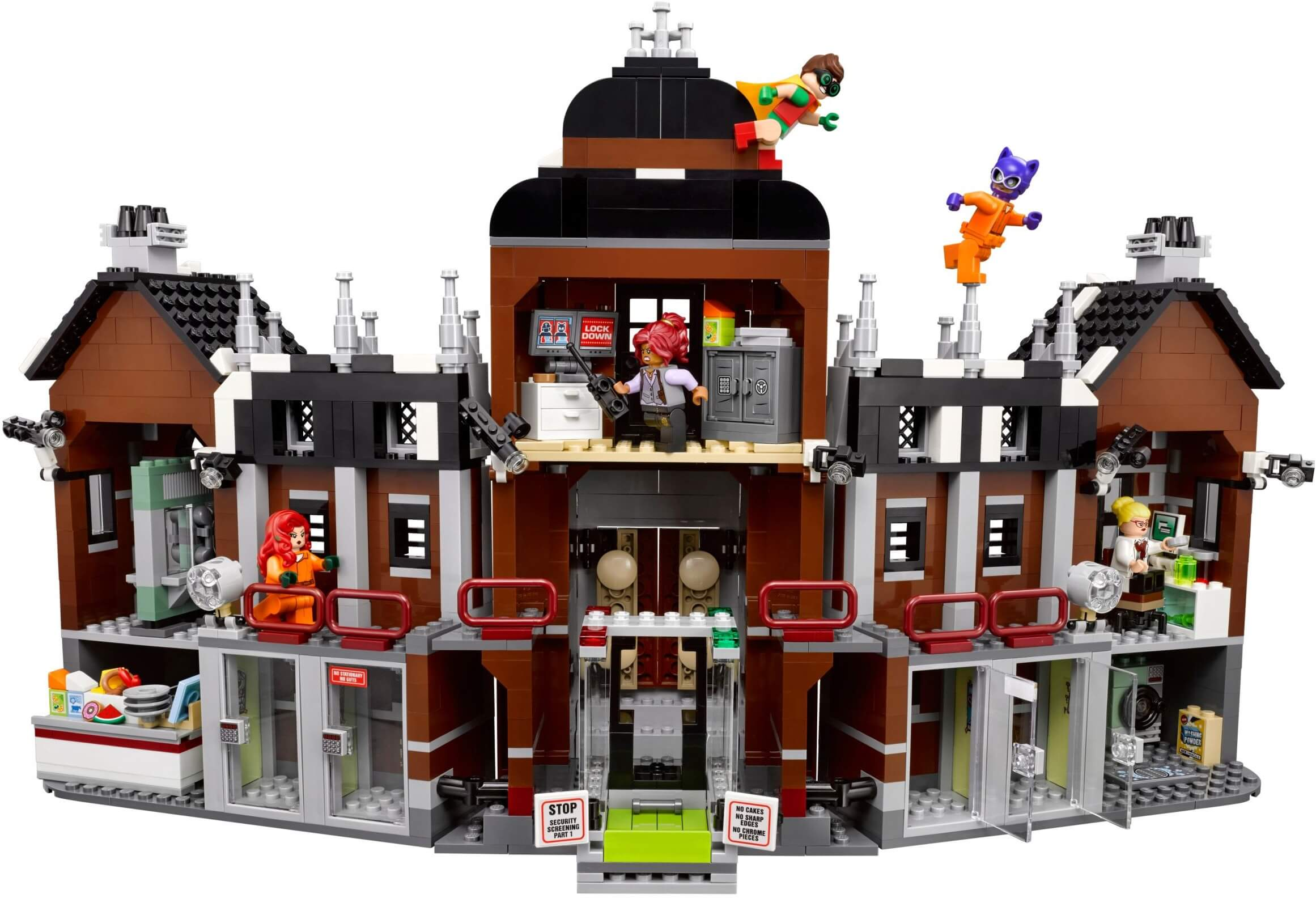 Mua đồ chơi LEGO 70912 - LEGO Batman Movie 70912 - Nhà Tù Arkham (LEGO 70912 Arkham Asylum)