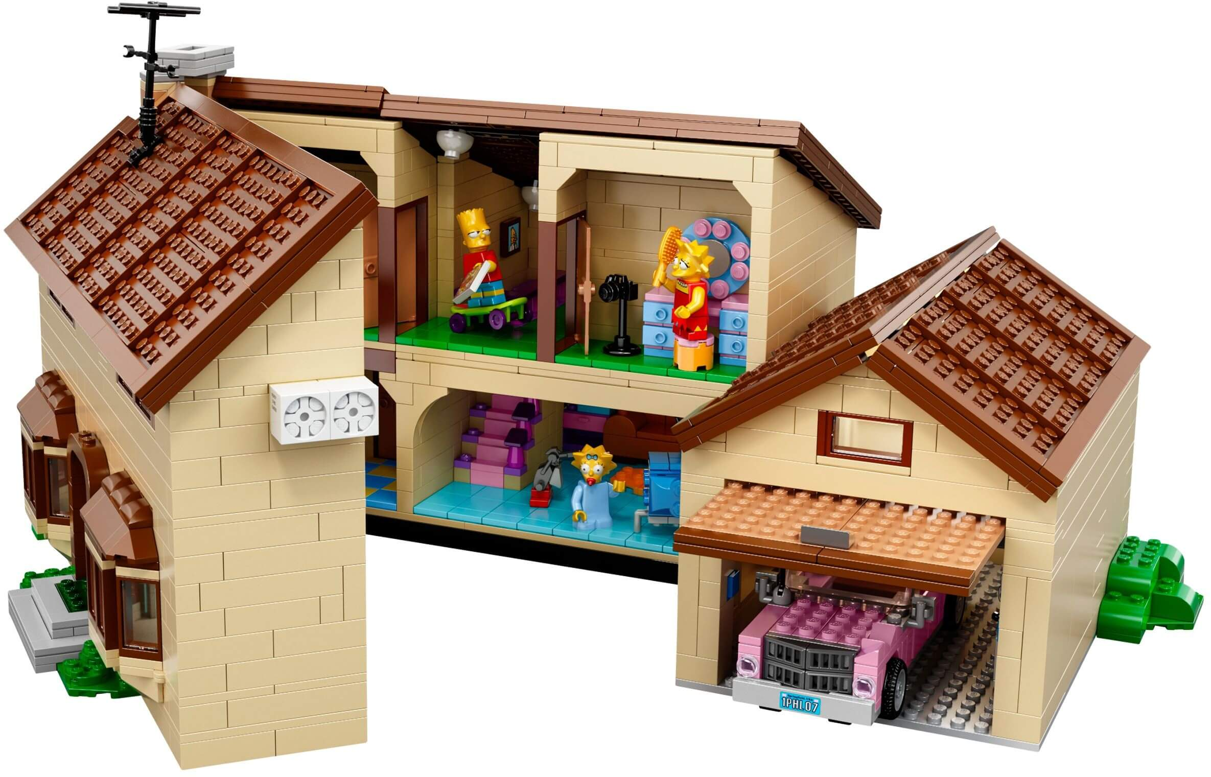 Mua đồ chơi LEGO 71006 - LEGO The Simpsons 71006 - Ngôi nhà của Gia đình Simpsons (LEGO The Simpsons Exclusives The Simpsons House 71006)