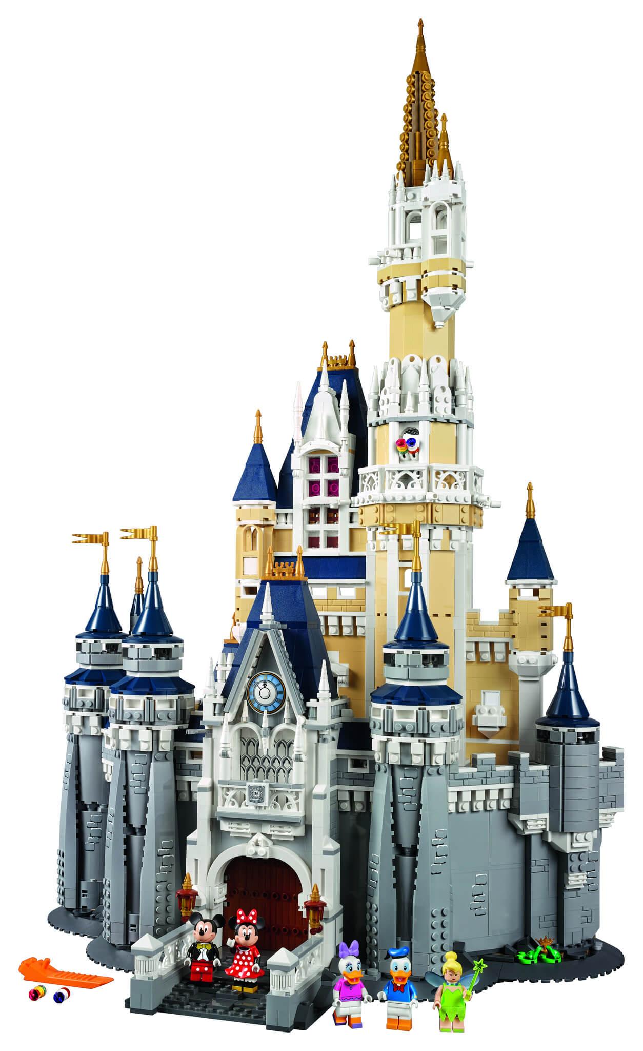 Mua đồ chơi LEGO 71040 - LEGO Exclusives 71040 - Lâu Đài của Đại Gia Đình Disney (LEGO Exclusives The Disney Castle 71040)