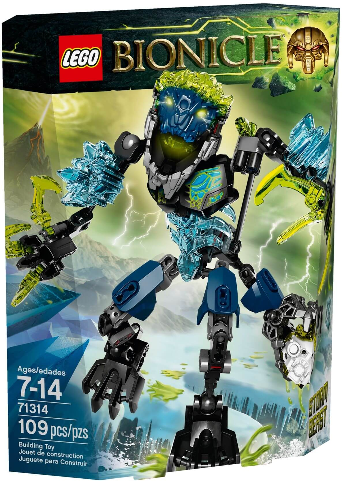 Mua đồ chơi LEGO 71314 - LEGO BIONICLE 71314 - Quái Vật Bão Tố (LEGO BIONICLE Storm Beast 71314)