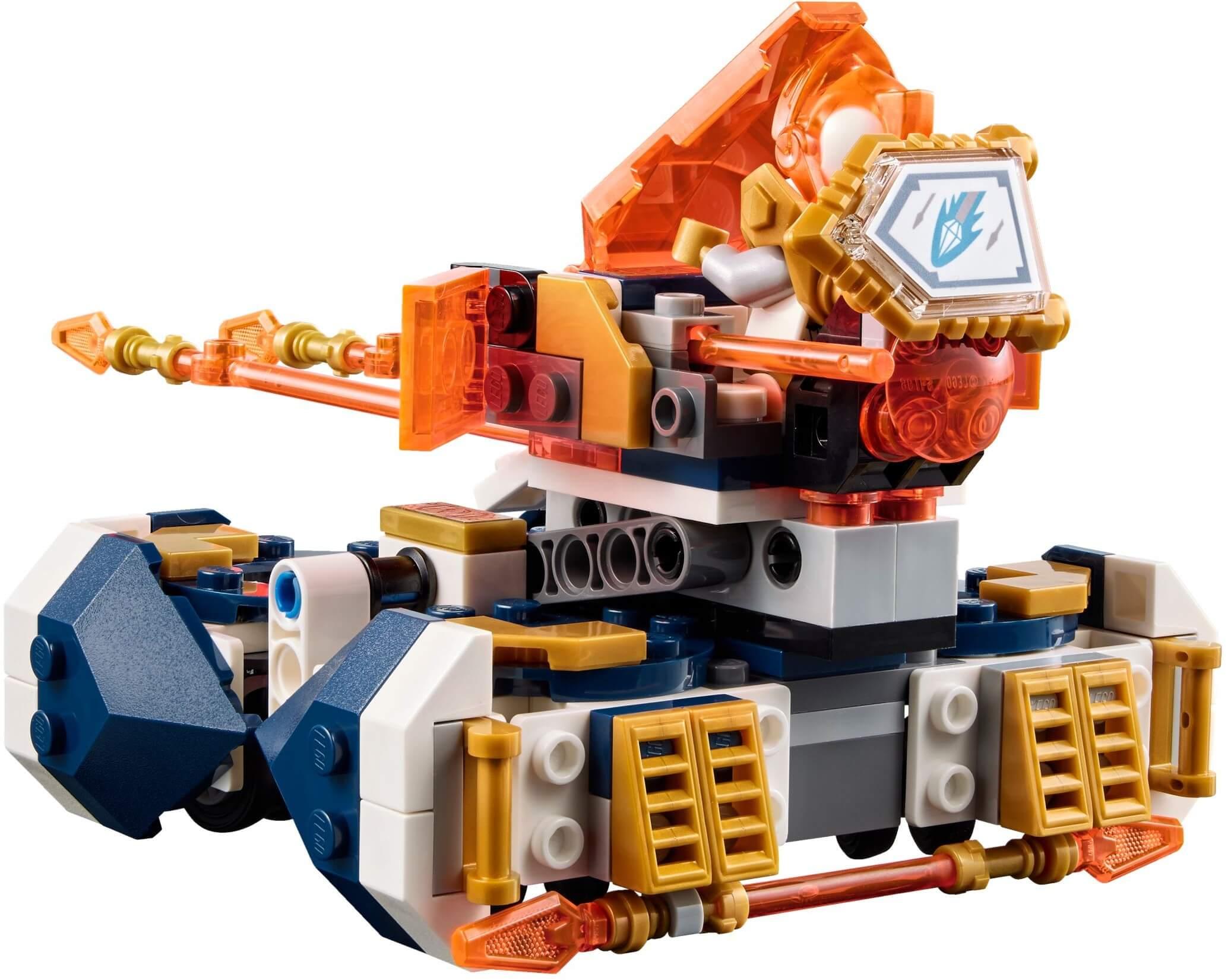 Mua đồ chơi LEGO 72001 - LEGO Nexo Knights 72001 - Cỗ máy phóng Lao của Lance (LEGO Nexo Knights 72001 Lance's Hover Jouster)