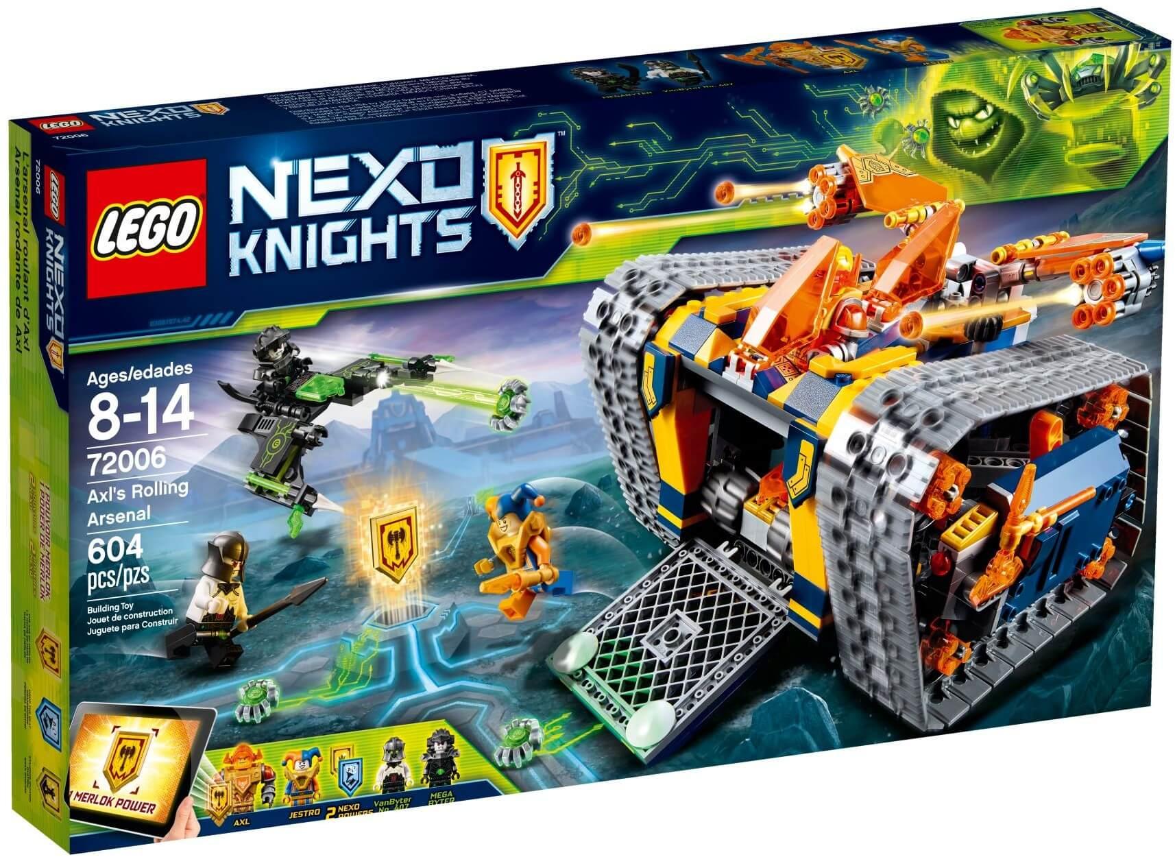 Mua đồ chơi LEGO 72006 - LEGO Nexo Knights 72006 - Xe Tăng của Axl (LEGO Nexo Knights 72006 Axl's Rolling Arsenal)