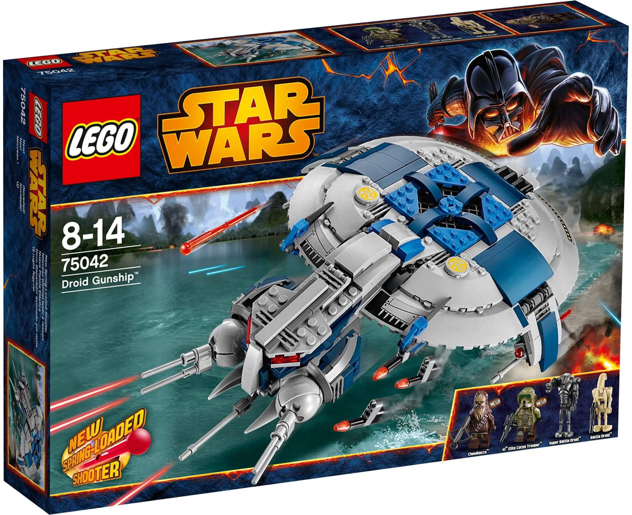 Mua đồ chơi LEGO 75042 - LEGO Star Wars 75042 - Tàu súng Chủ lực của binh đoàn Droid (LEGO Star Wars Droid Gunship 75042)