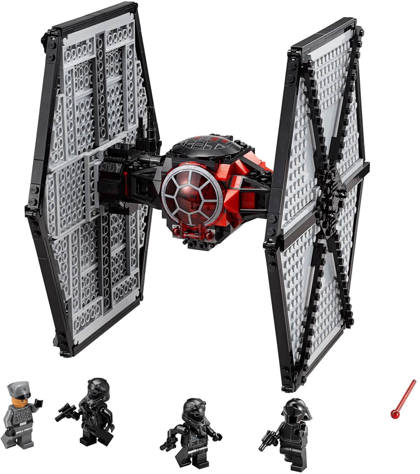 Mua đồ chơi LEGO 75101 - LEGO Star Wars 75101 - Máy bay TIE Fighter của đội đặc nhiệm First Order (LEGO Star Wars First Order Special Forces TIE fighter 75101)