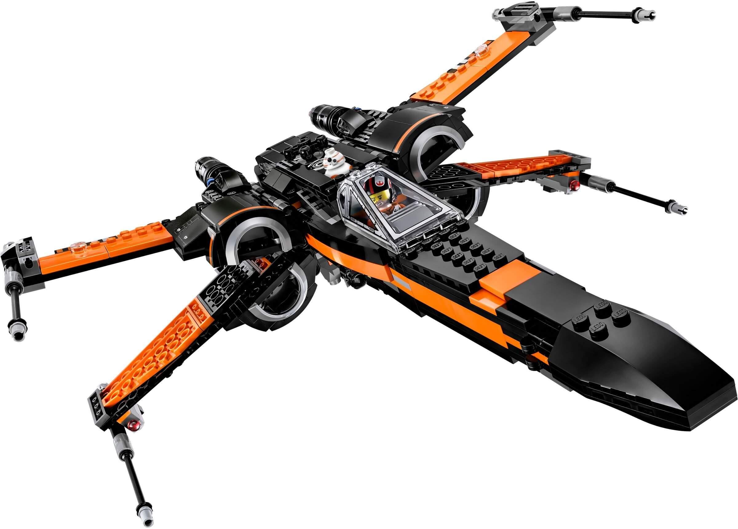 Mua đồ chơi LEGO 75102 - LEGO Star Wars 75102 - Máy bay X-wing T-70 của Poe (LEGO Star Wars Poe's X-wing Fighter 75102)