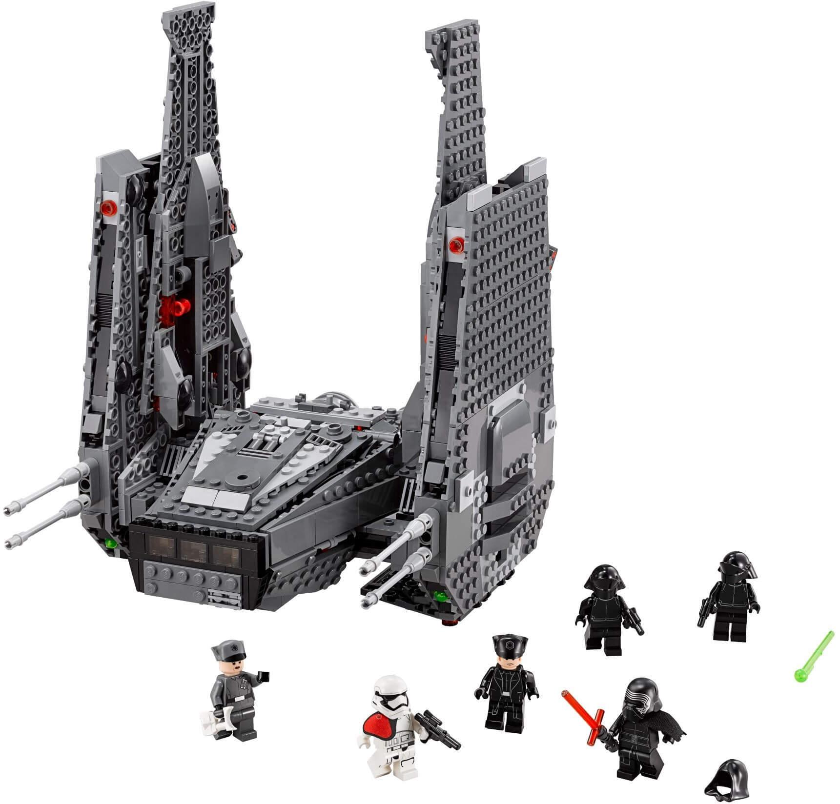 Mua đồ chơi LEGO 75104 - LEGO Star Wars 75104 - Phi thuyền chỉ huy của Kylo Ren (LEGO Star Wars Kylo Ren's Command Shuttle 75104)
