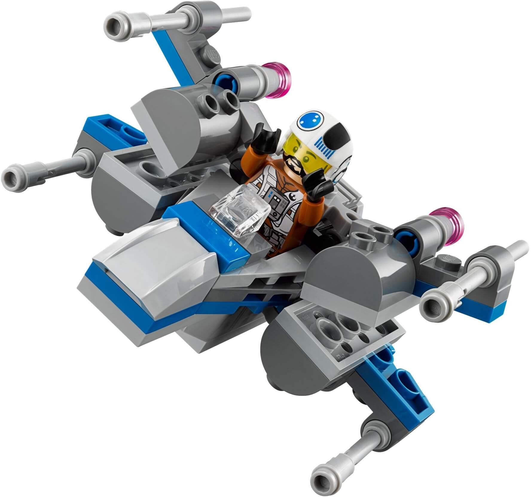 Mua đồ chơi LEGO 75126 - LEGO Star Wars 75126 - Mô hình Xe trượt tuyết Snowspeeder thu nhỏ (LEGO Star Wars First Order Snowspeeder 75126)