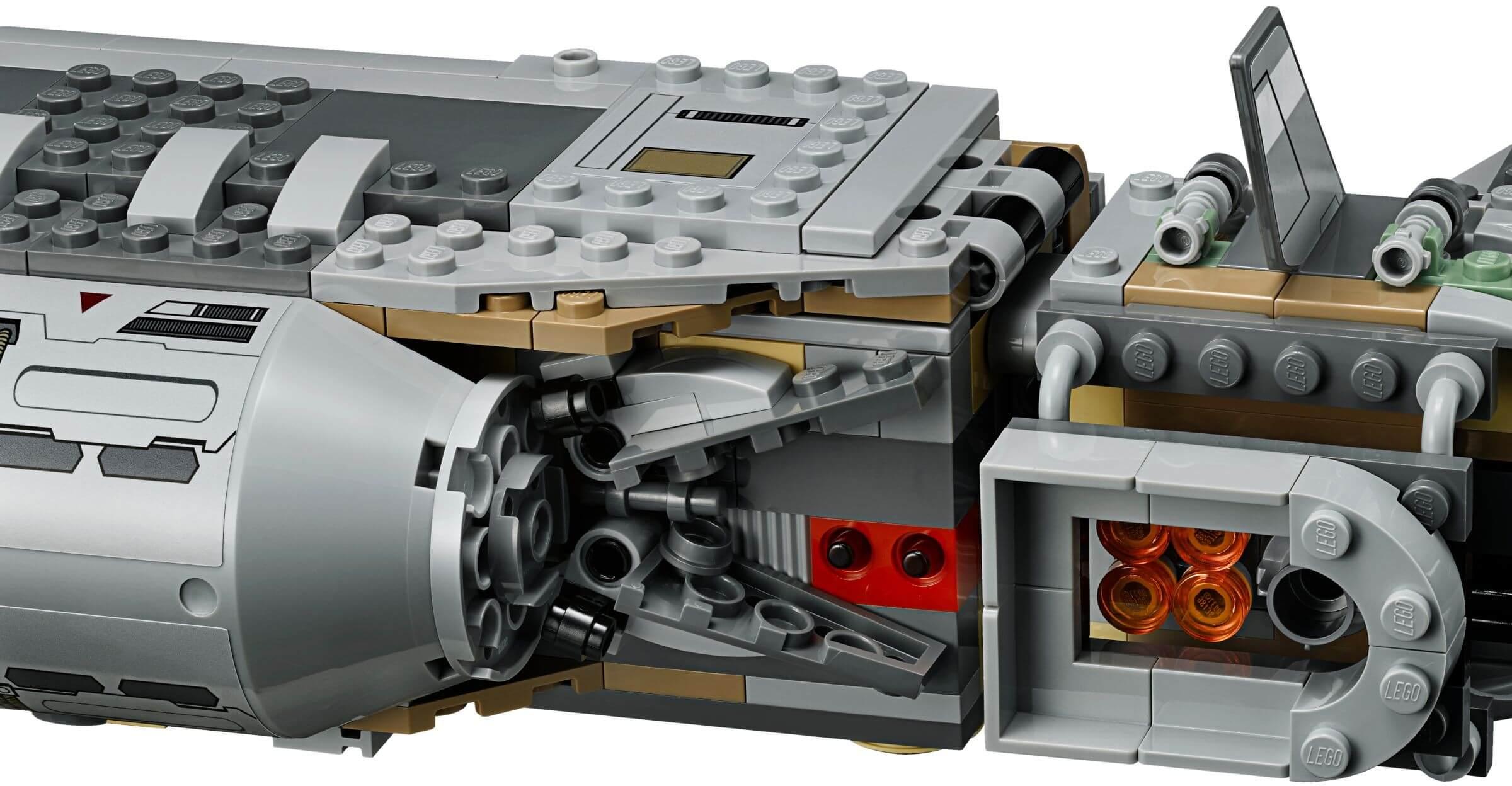 Mua đồ chơi LEGO 75140 - LEGO Star Wars 75140 - Tàu chở Lính của quân Kháng Chiến (LEGO Star Wars Resistance Troop Transporter 75140)