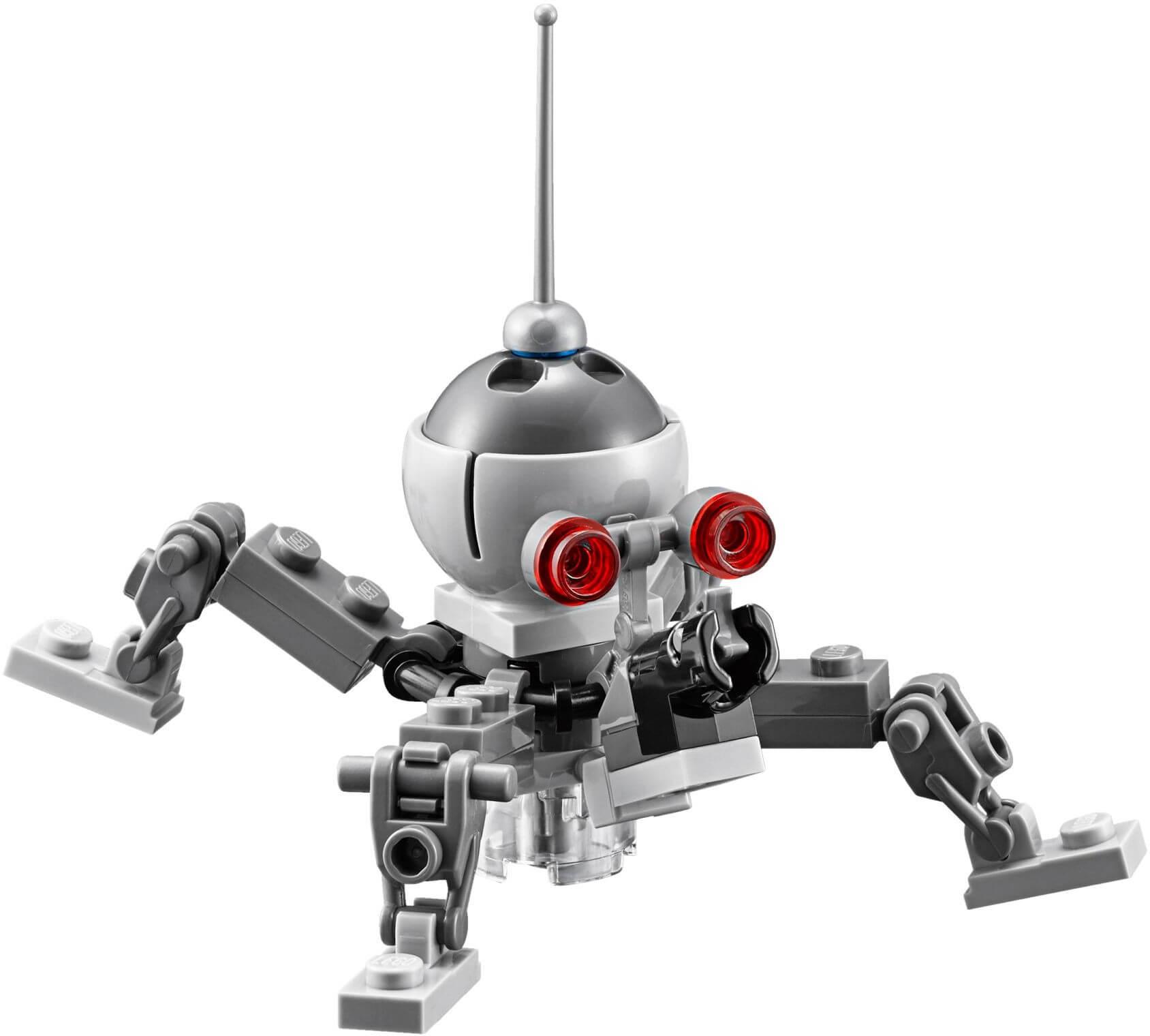 Mua đồ chơi LEGO 75142 - LEGO Star Wars 75142 - Nhện Máy Tác Chiến Khổng Lồ (LEGO Star Wars Homing Spider Droid 75142)