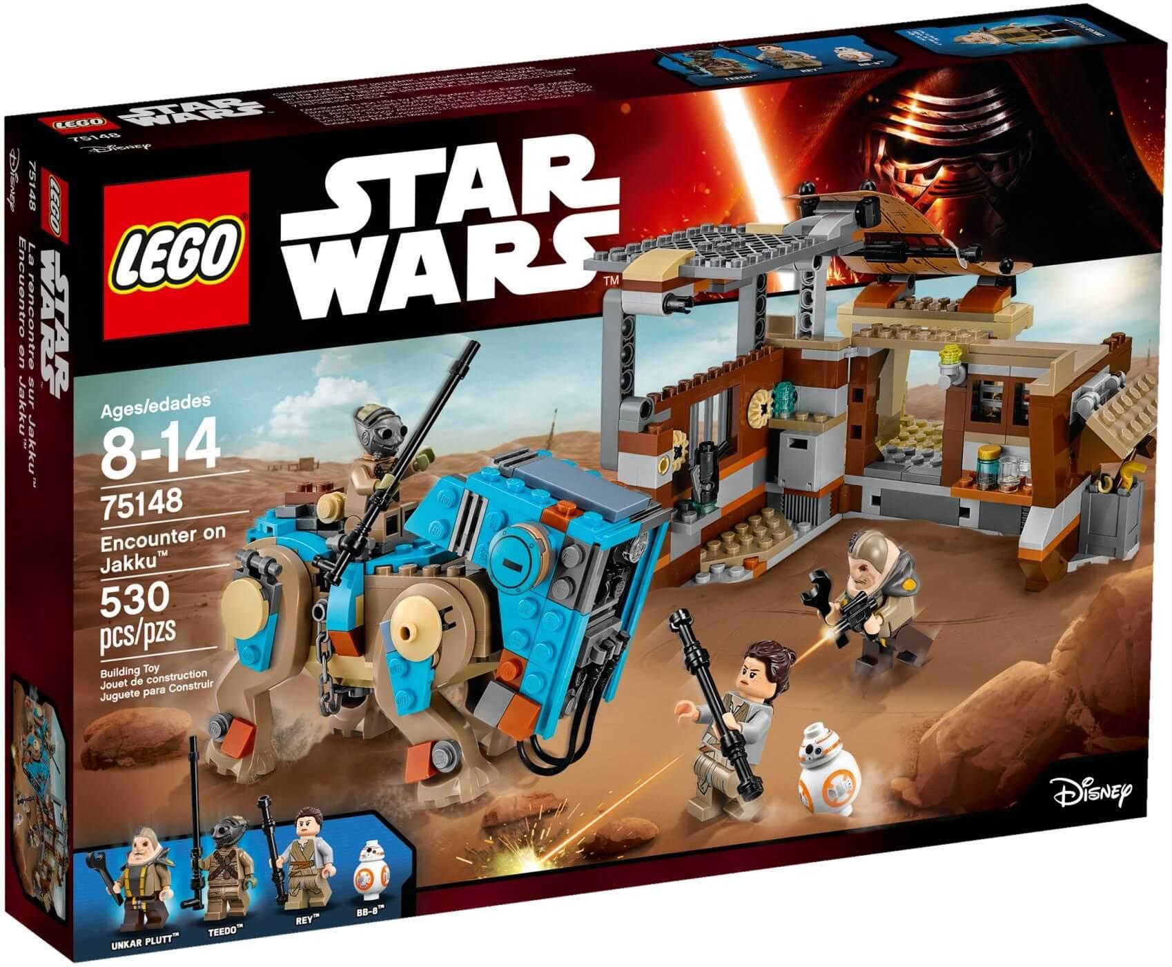 Mua đồ chơi LEGO 75148 - LEGO Star Wars 75148 - Khu Chợ Hành Tinh Jakku (LEGO Star Wars Encounter on Jakku 75148)