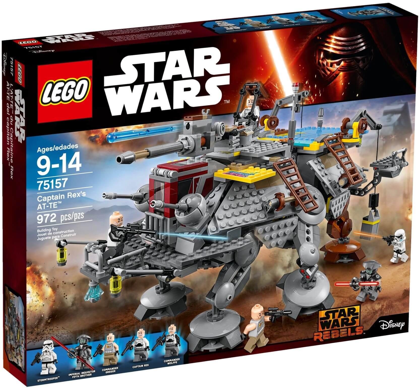 Mua đồ chơi LEGO 75157 - LEGO Star Wars 75157 - Robot AT-TE Khổng Lồ của Chỉ Huy Rex (LEGO Star Wars Captain Rex's AT-TE 75157)