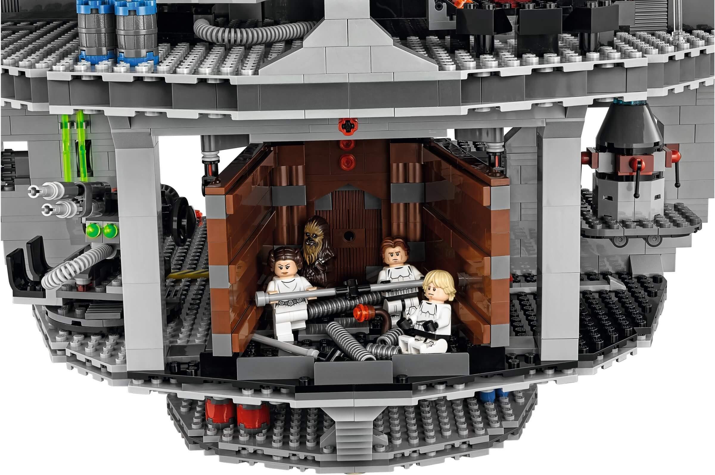 Mua đồ chơi LEGO 75159 - LEGO Star Wars 75159 - Death Star 2016 (LEGO Star Wars UCS Death Star 75159) - 4016 mảnh ghép