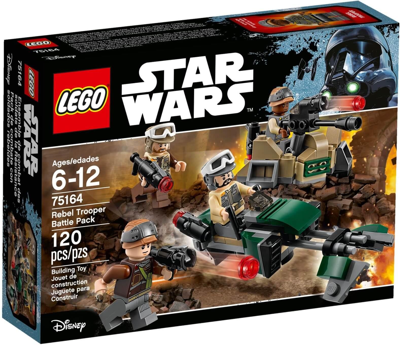Mua đồ chơi LEGO 75164 - LEGO Star Wars 75164 - Đội Đặc Nhiệm Rebel (LEGO 75164 Rebel Trooper Battle Pack)