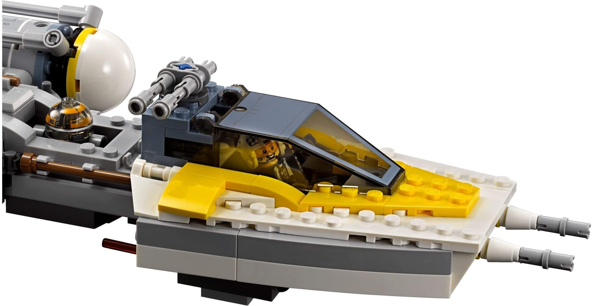 Mua đồ chơi LEGO 75172 - LEGO Star Wars 75172 - Phi Thuyền Y-Wing Starfighter (LEGO 75172 Y-Wing Starfighter)