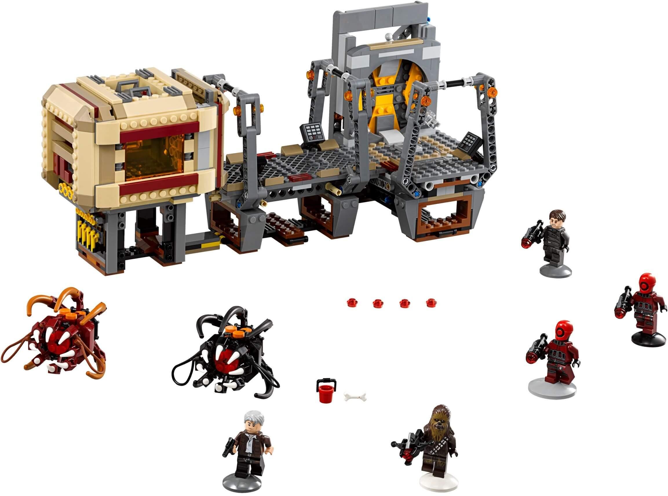 Mua đồ chơi LEGO 75180 - LEGO Star Wars 75180 - Quái Vật Rathtar sổng chuồng (LEGO Star Wars Rathtar Escape)