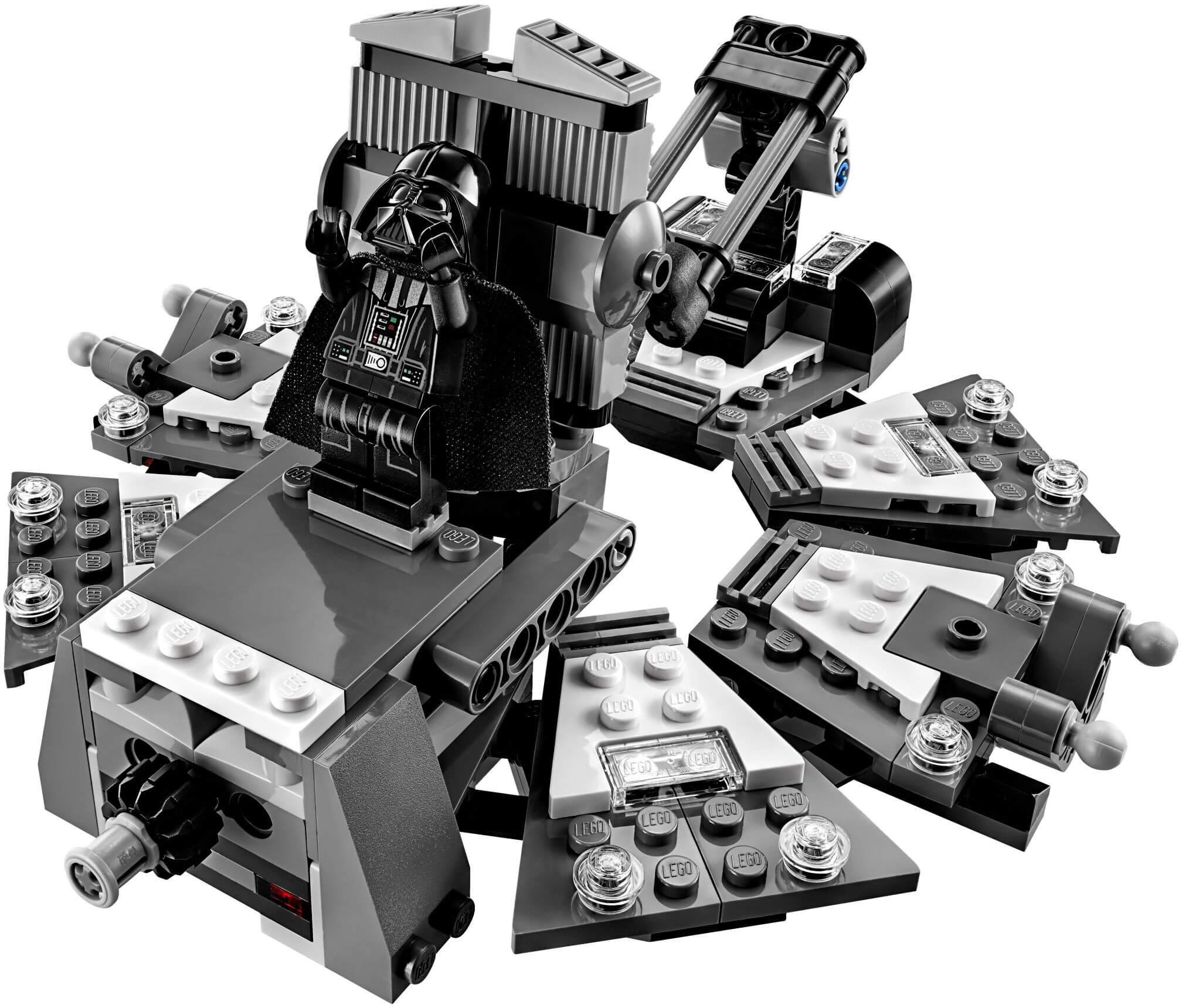 Mua đồ chơi LEGO 75183 - LEGO Star Wars 75183 - Darth Vader tái sinh từ Anakin Skywalker (LEGO Star Wars Darth Vader Transformation)