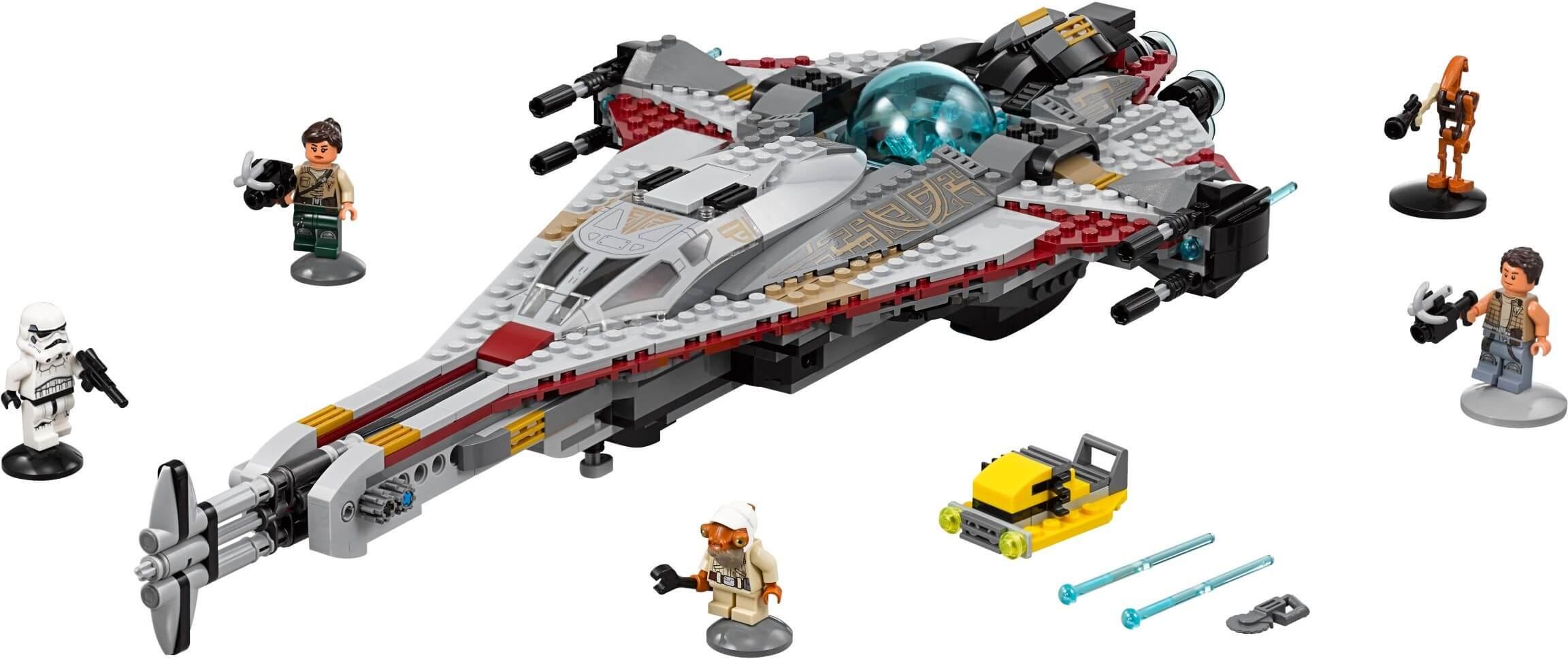 Mua đồ chơi LEGO 75186 - LEGO Star Wars 75186 - Phi Thuyền Arrowhead (LEGO Star Wars The Arrowhead)