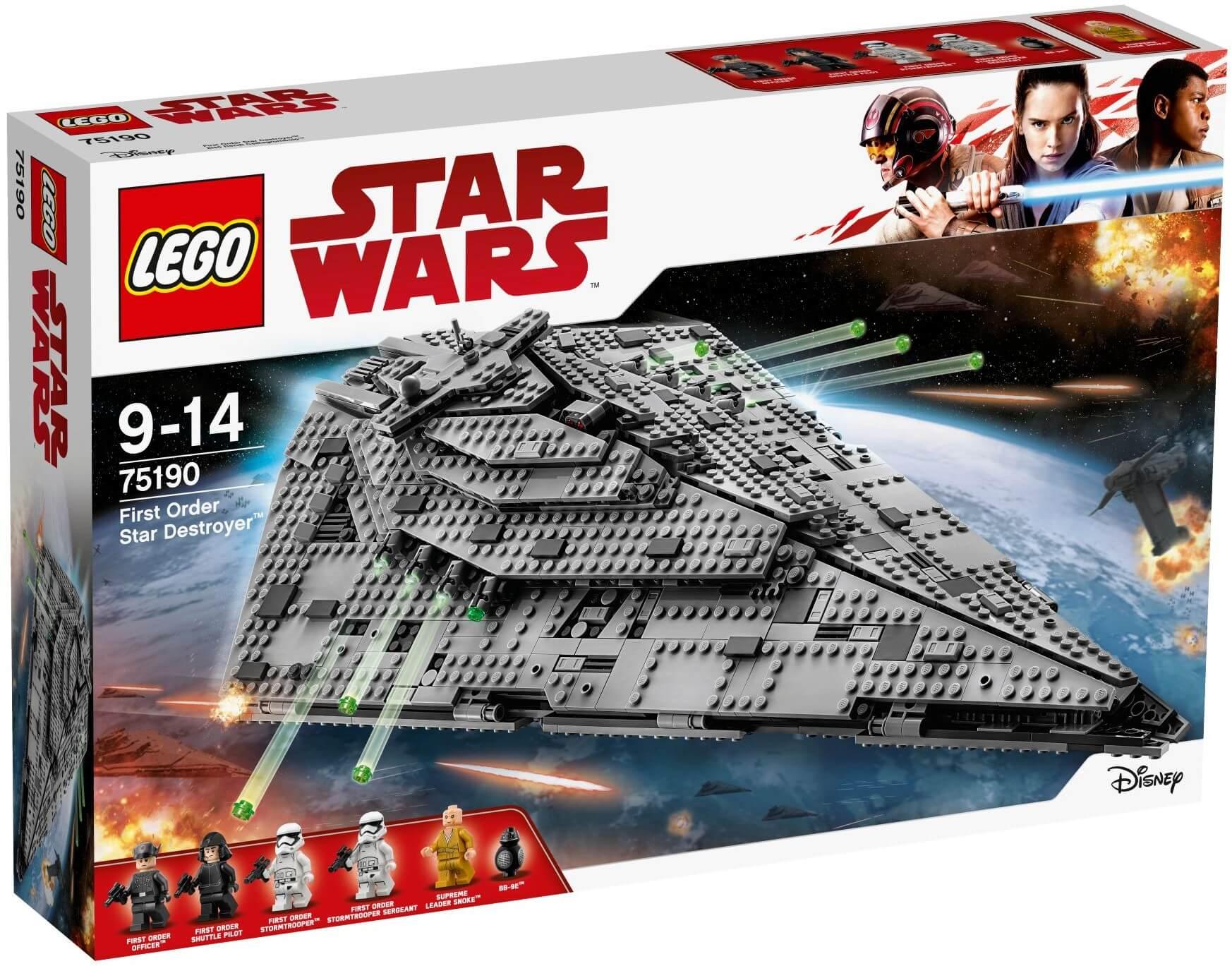 Mua đồ chơi LEGO 75190 - LEGO Star Wars 75190 - First Order Star Destroyer - Chiến Hạm Hủy Diệt First Order