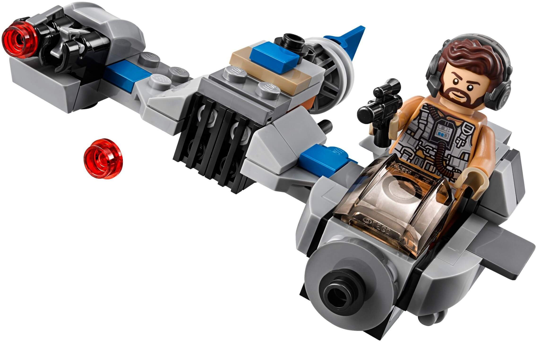 Mua đồ chơi LEGO 75195 - LEGO Star Wars 75195 - Ski Speeder vs. First Order Walker (LEGO 75195 Ski Speeder vs. First Order Walker Microfighters)