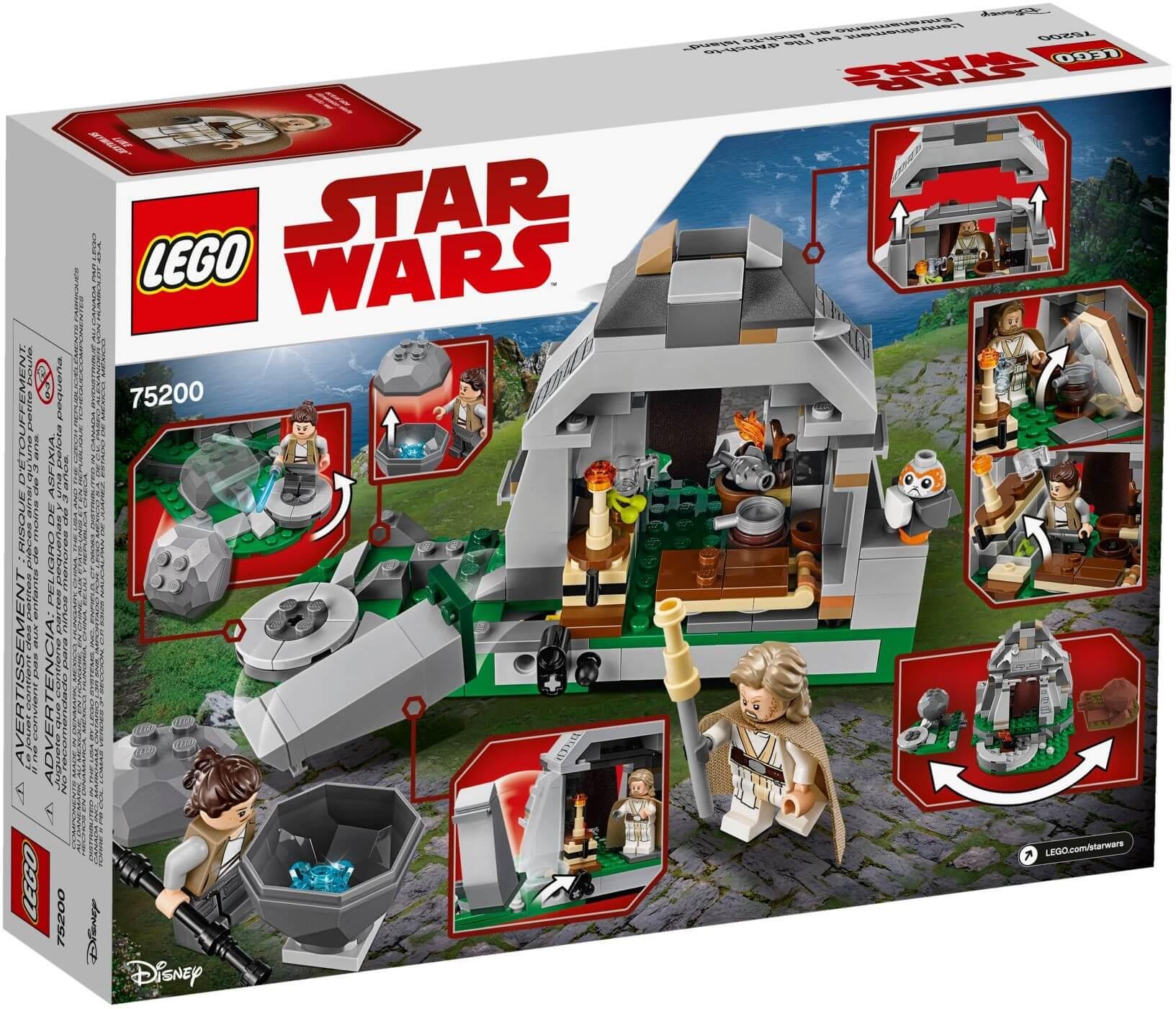 Mua đồ chơi LEGO 75200 - LEGO Star Wars 75200 - Rey và Luke trên đảo Ahch-To (LEGO Star Wars 75200 Ahch-To Island Training)