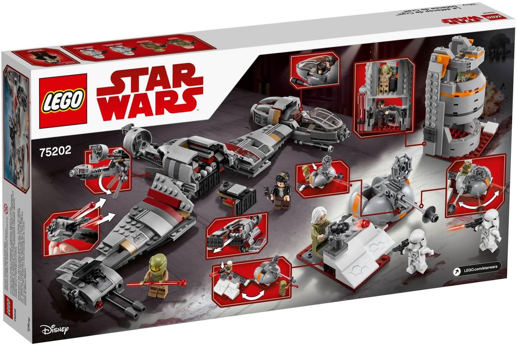 Mua đồ chơi LEGO 75202 - LEGO Star Wars 75202 - Bảo Vệ Hành Tinh Crait (LEGO Star Wars 75202 Defense of Crait)