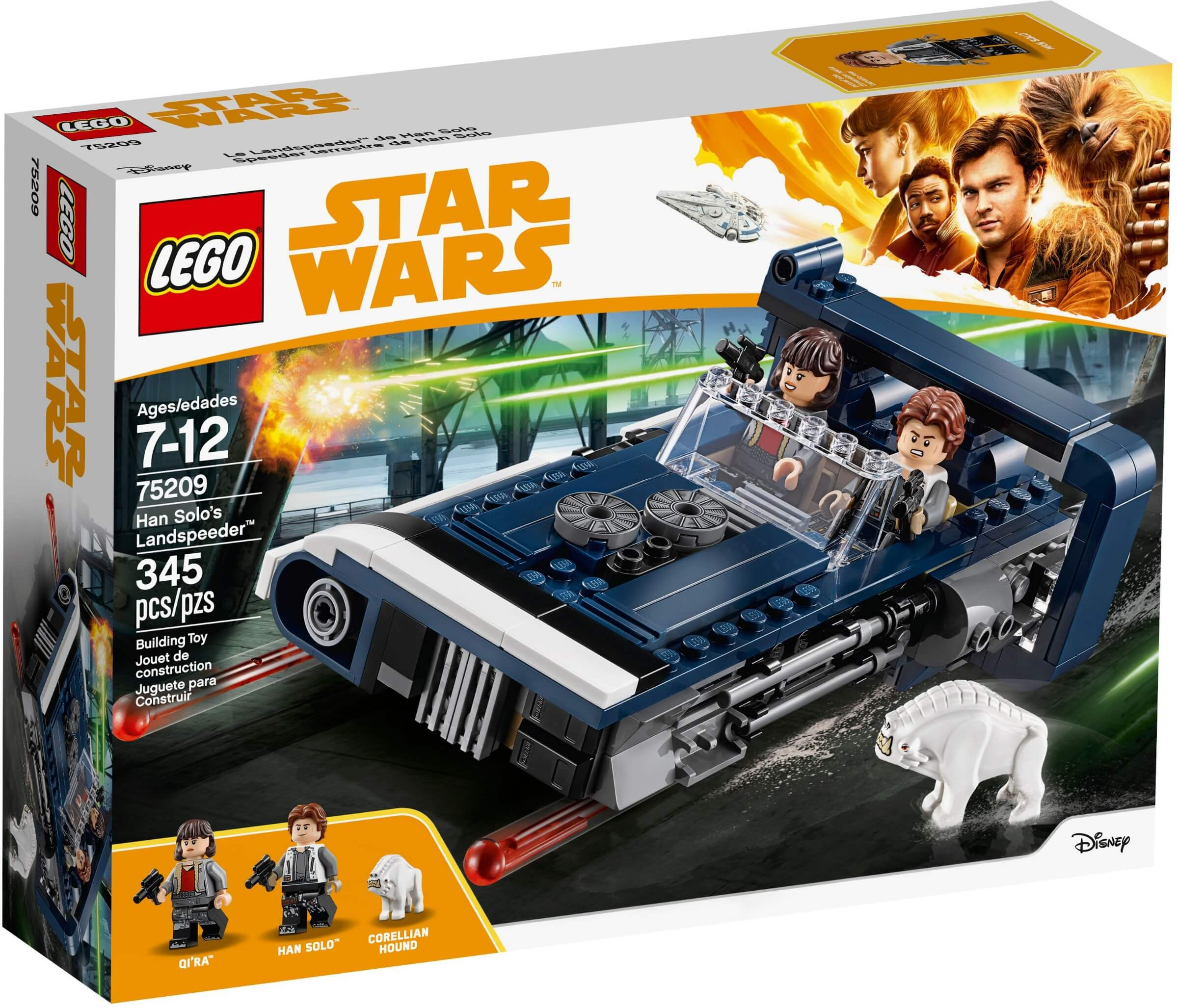 Mua đồ chơi LEGO 75209 - LEGO Star Wars 75209 - Siêu Xe Phản Lực của Han Solo (LEGO 75209 Han Solo's Landspeeder)