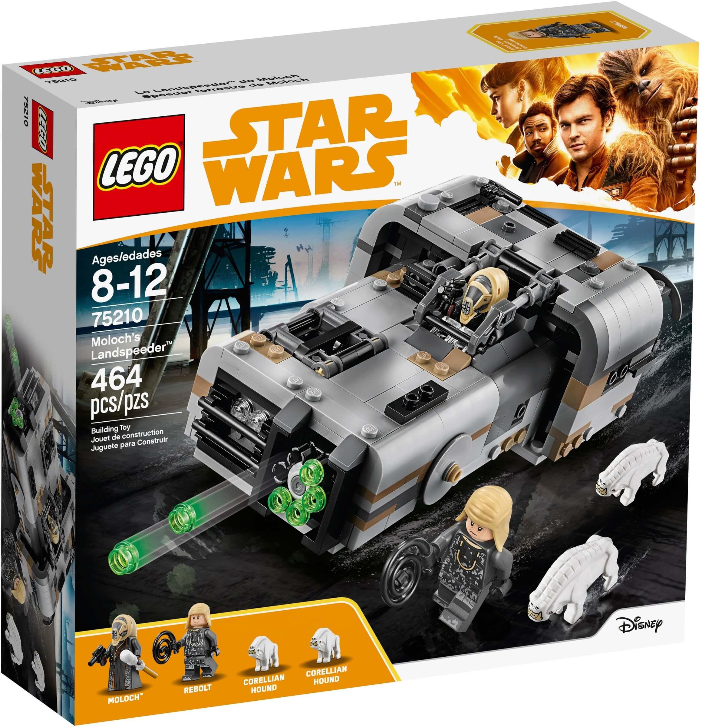 Mua đồ chơi LEGO 75210 - LEGO Star Wars 75210 - Siêu Xe Thiết Giáp của Moloch (LEGO 75210 Moloch's Landspeeder)